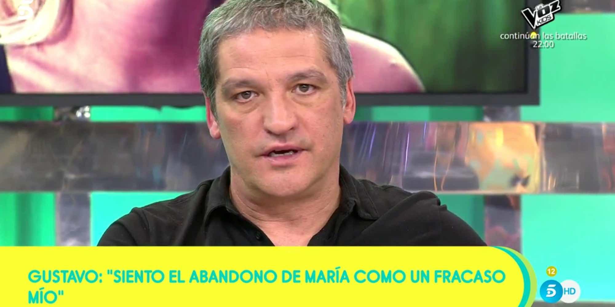 Gustavo González se considera culpable del abandono de María Lapiedra en 'Supervivientes 2018'