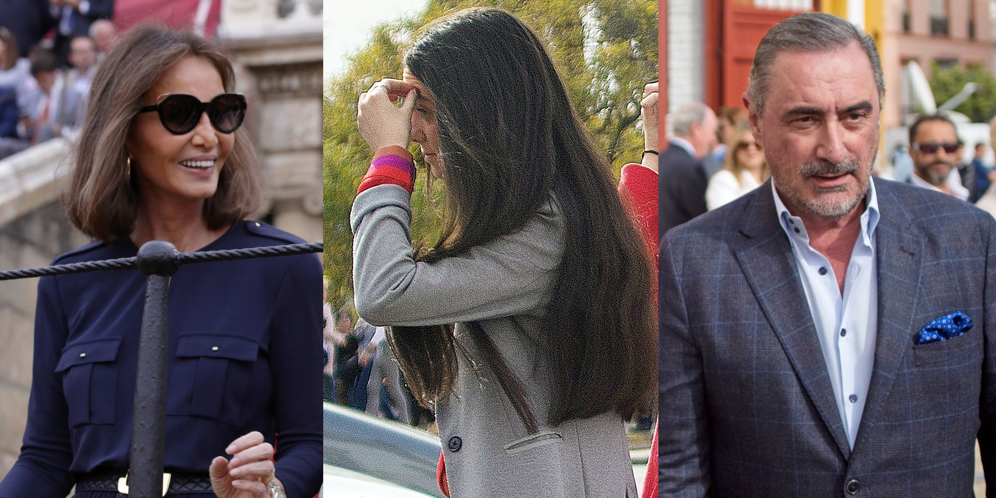 Isabel Preysler, Victoria Federica o Carlos Herrera no se pierden la corrida del Domingo de Resurrección
