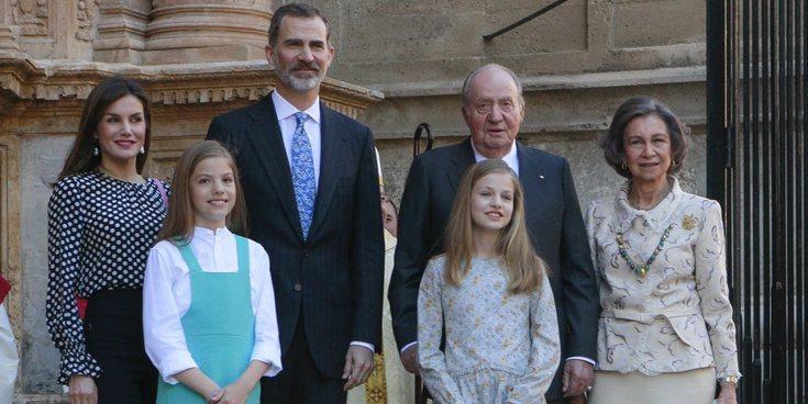 Las razones por las que el Rey Juan Carlos ha vuelto a la Misa de Pascua con la Familia Real