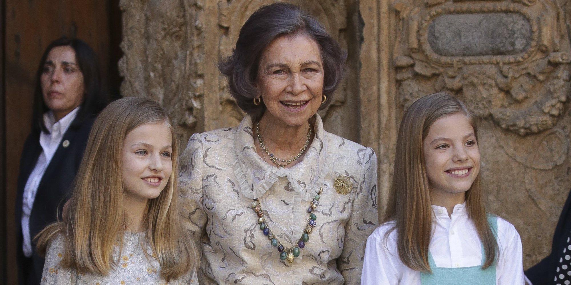 La Reina Sofía, humillada en público por el feo gesto de la Princesa Leonor y el desplante de la Reina Letizia