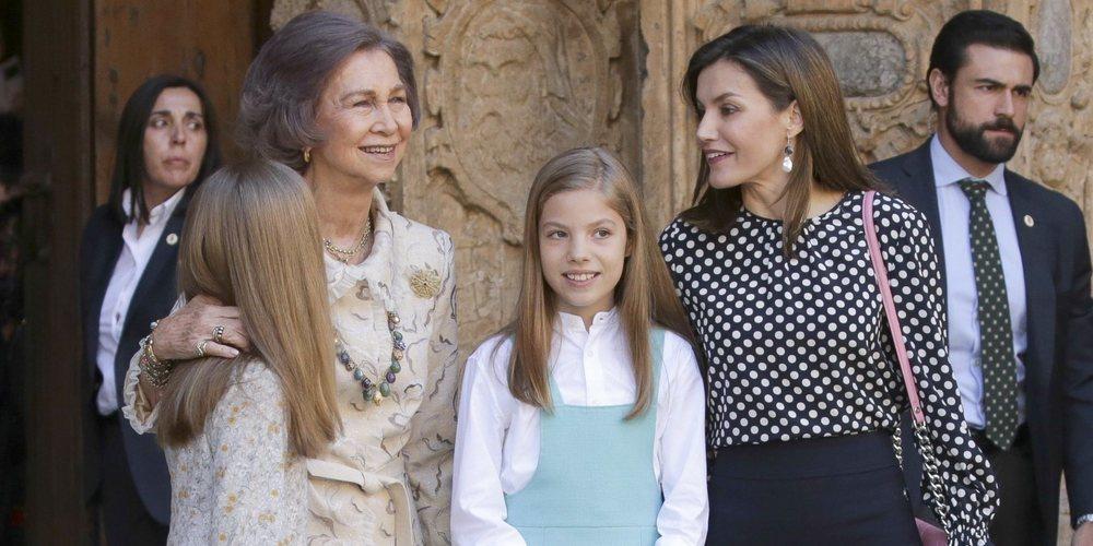 La Reina Letizia y la Reina Sofía: crónica de un escándalo con desplantes y 'reconciliación' pública