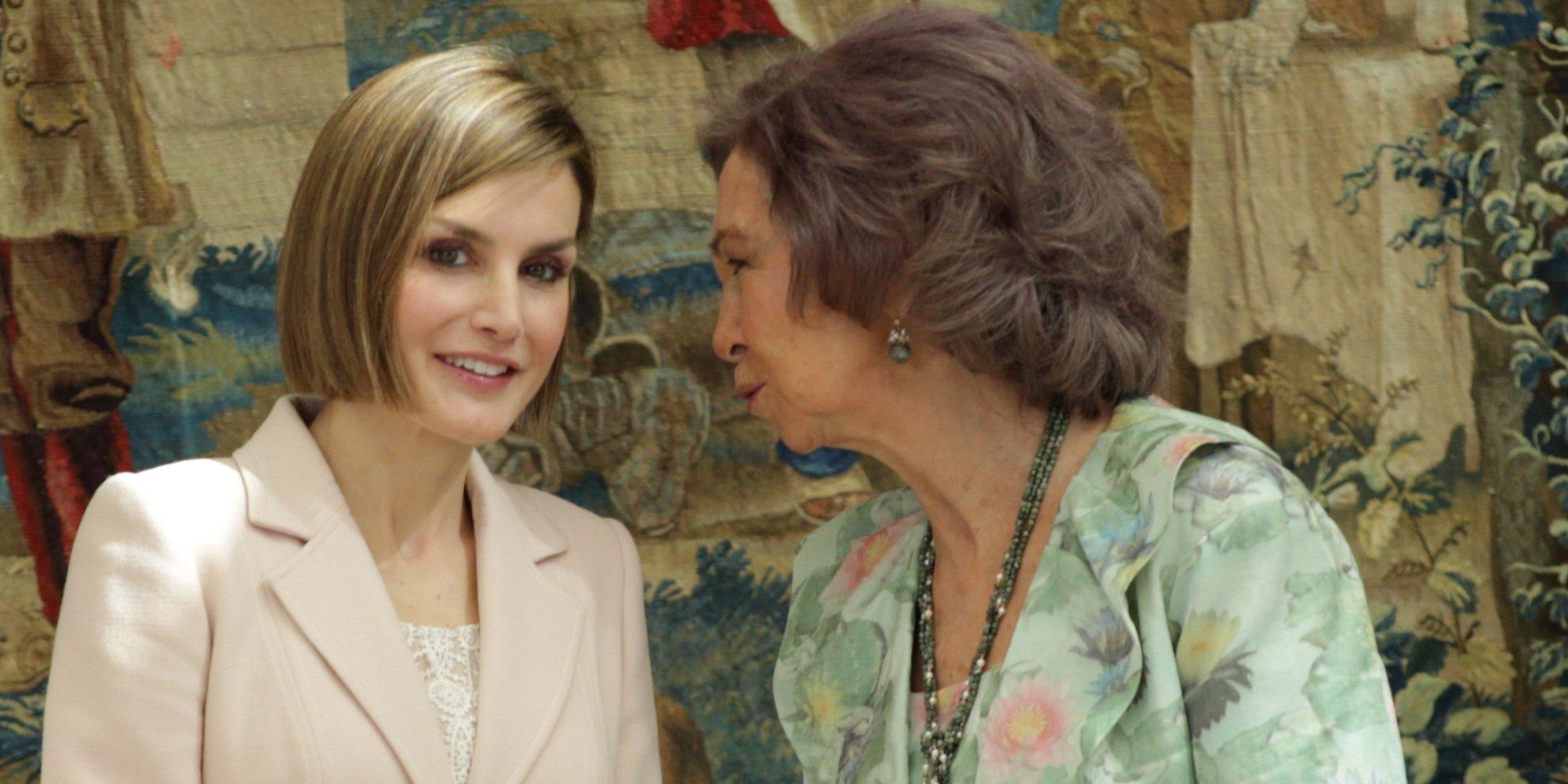 """Las frases de la Reina Letizia que dejaron planchada a la Reina Sofía: """"¿Dónde vas?"""""""