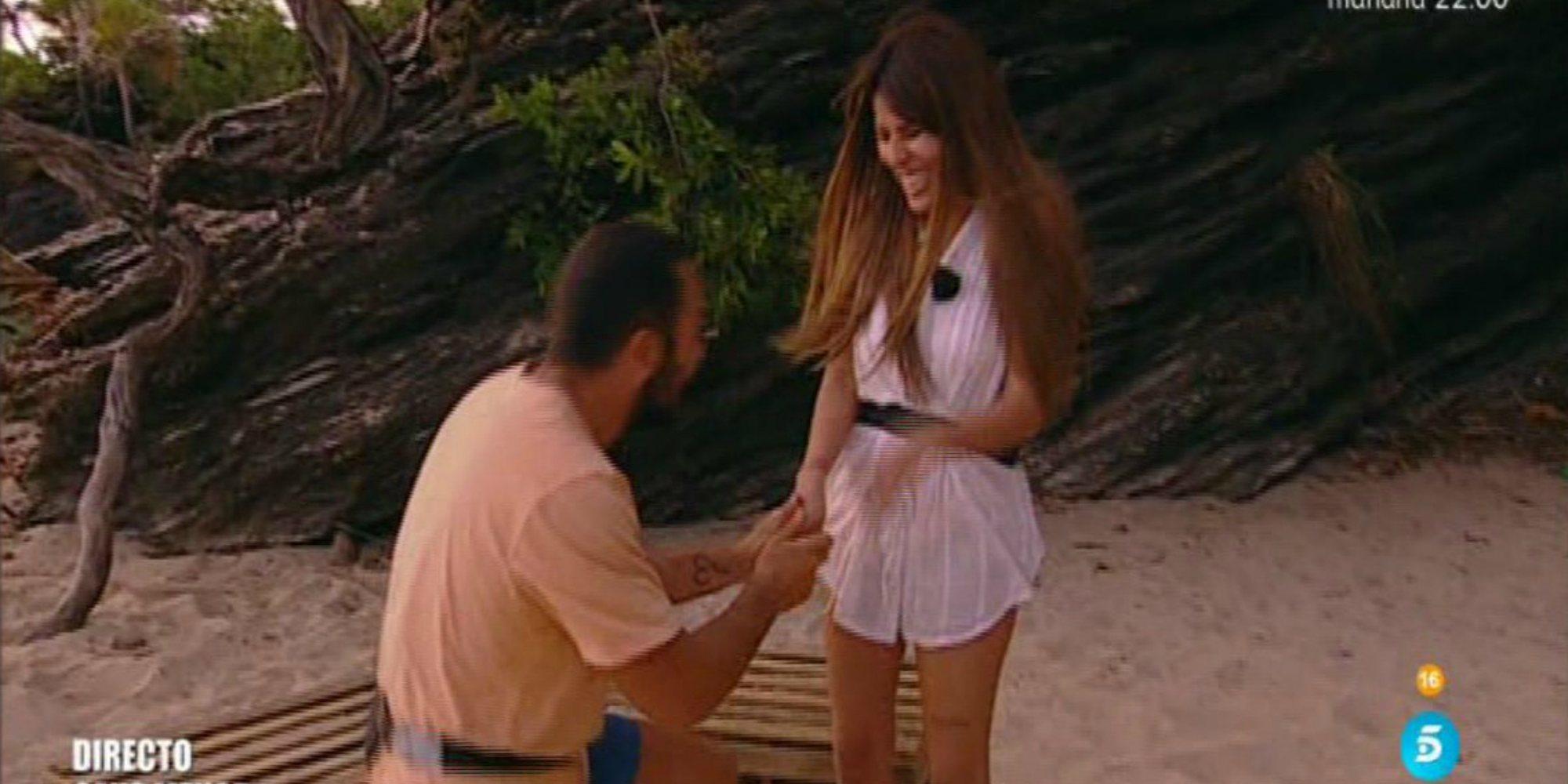 Alberto Isla le pide matrimonio a Chabelita Pantoja en 'Supervivientes 2018'