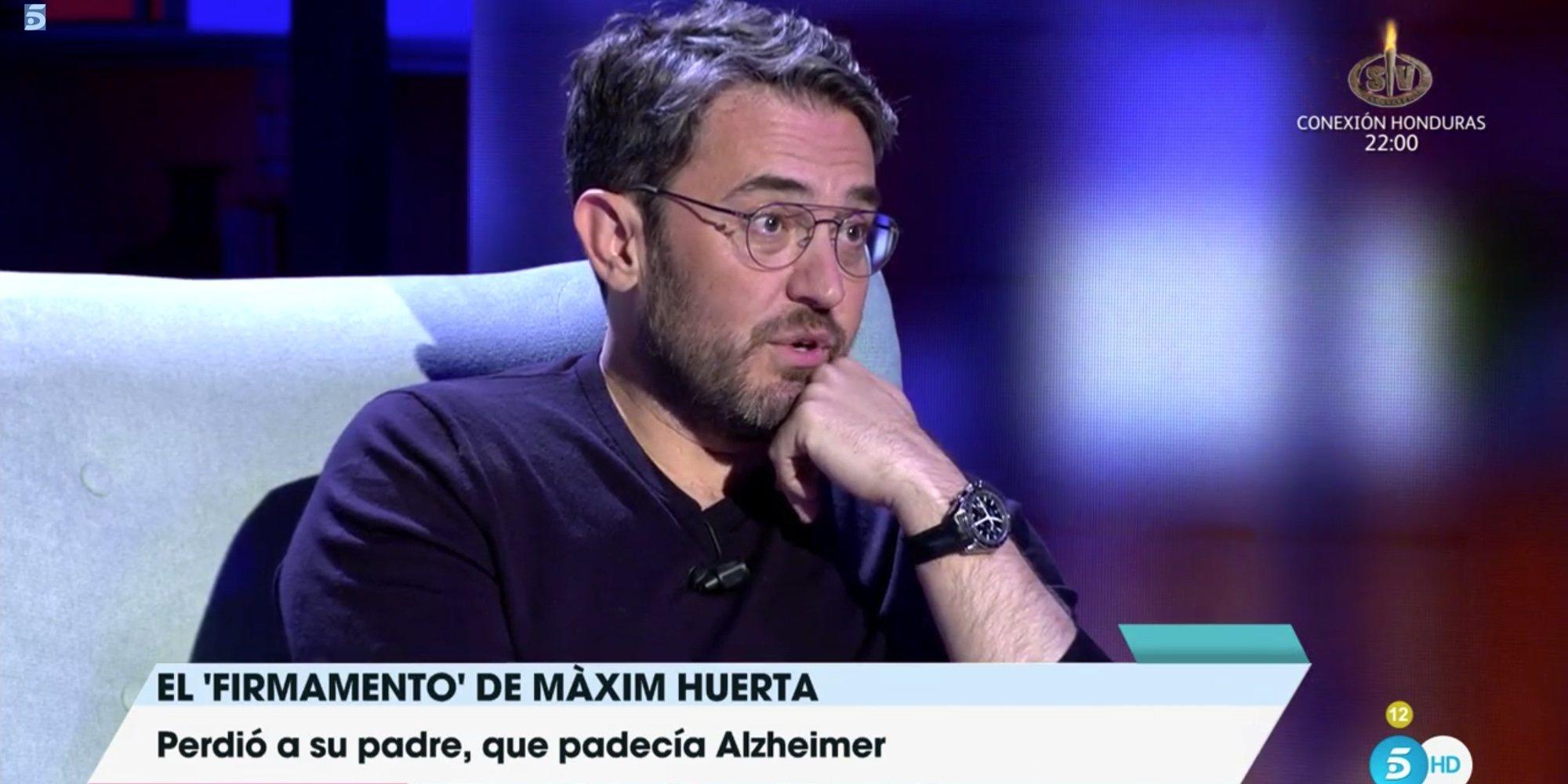 """Máxim Huerta se sincera con Toñi Moreno: """"Hay infancias que no son bonitas y no pasa nada"""""""