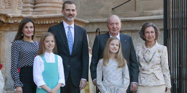 El Rey Juan Carlos 'salva' a la Casa Real tras el escándalo de la Reina Letizia y la Reina Sofía