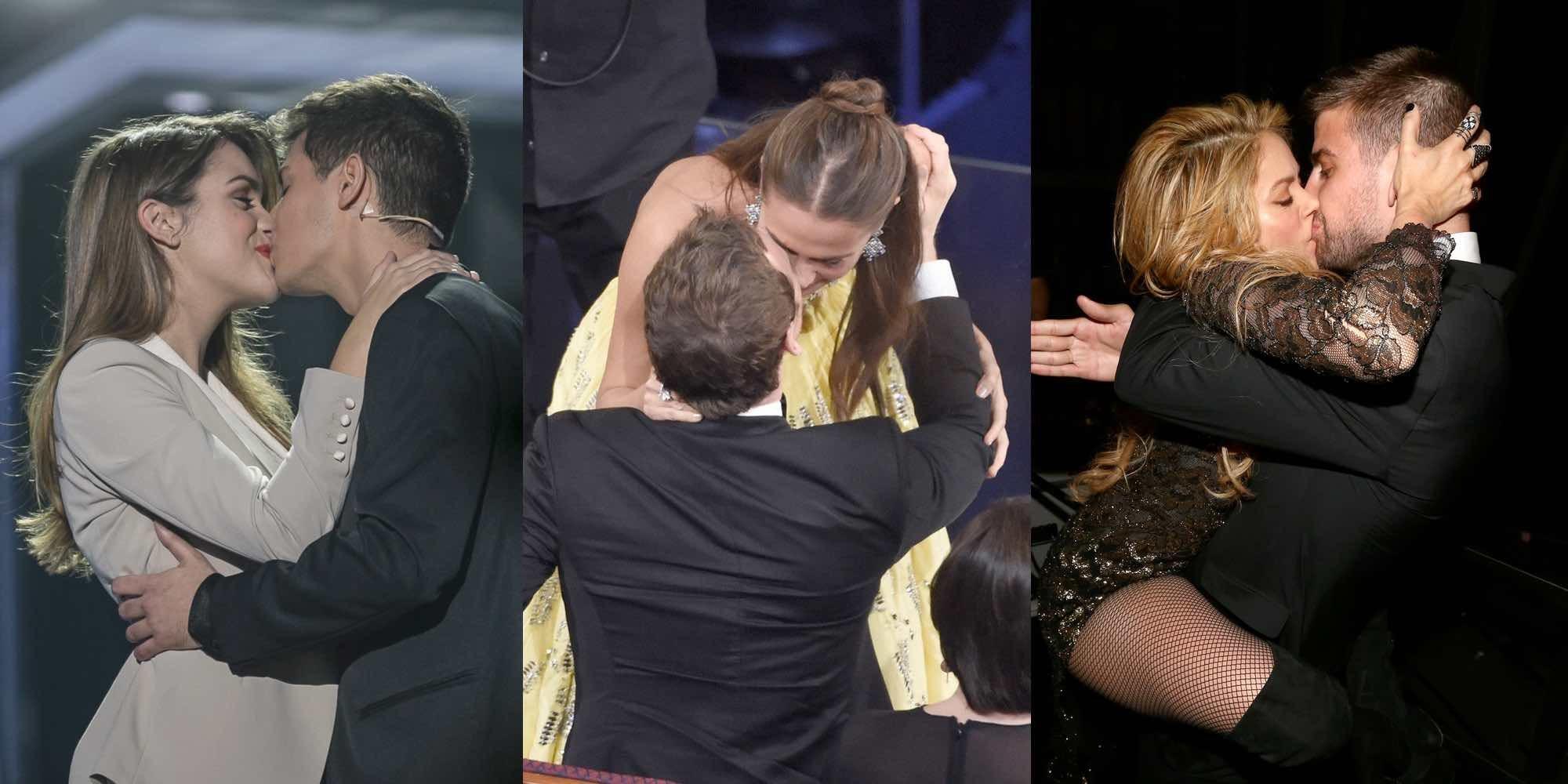 Celebs besuconas: 6 besos de parejas de famosos que pasarán a la historia