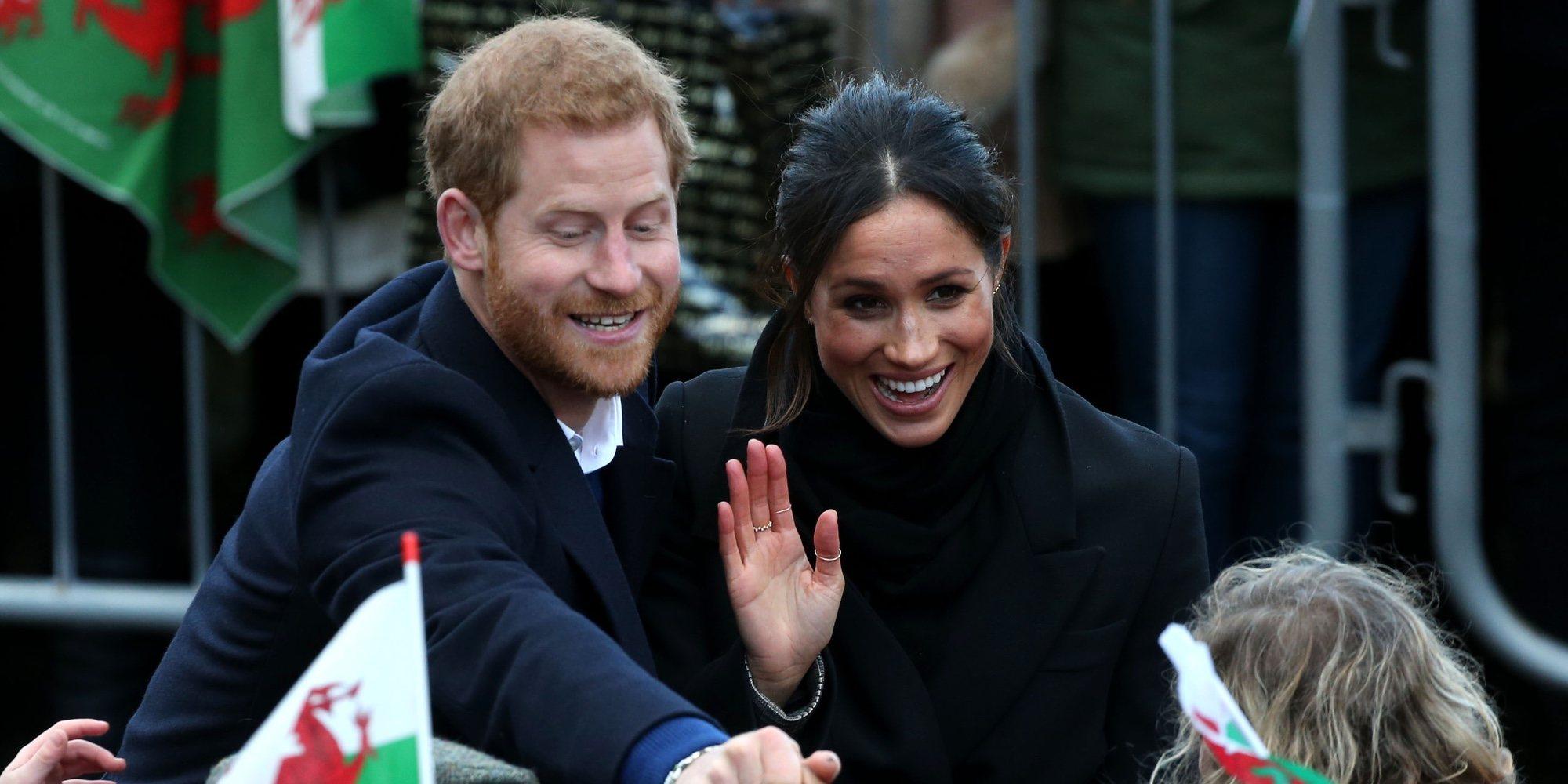 La lista de bodas solidaria del Príncipe Harry y Meghan Markle