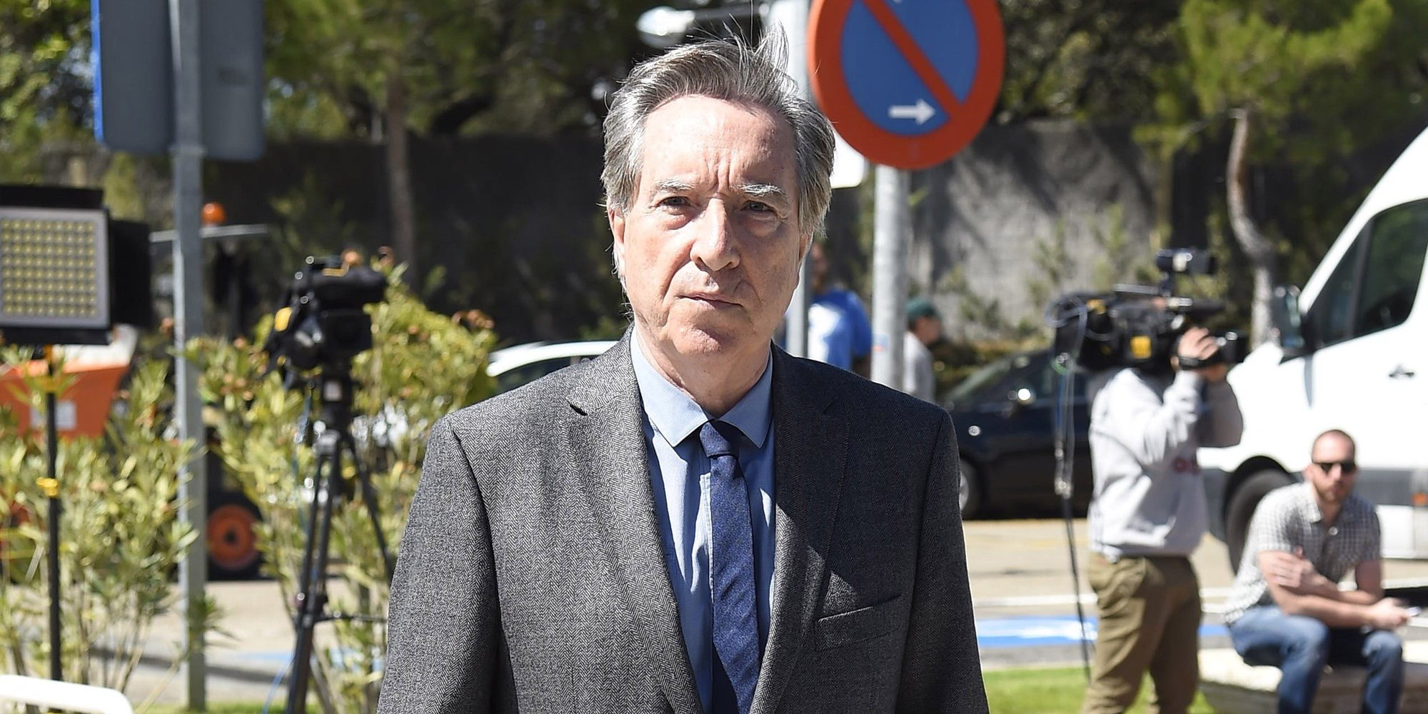 Iñaki Gabilondo se desmaya durante una conferencia en la Facultad de Comunicación de la Universidad de Navarra