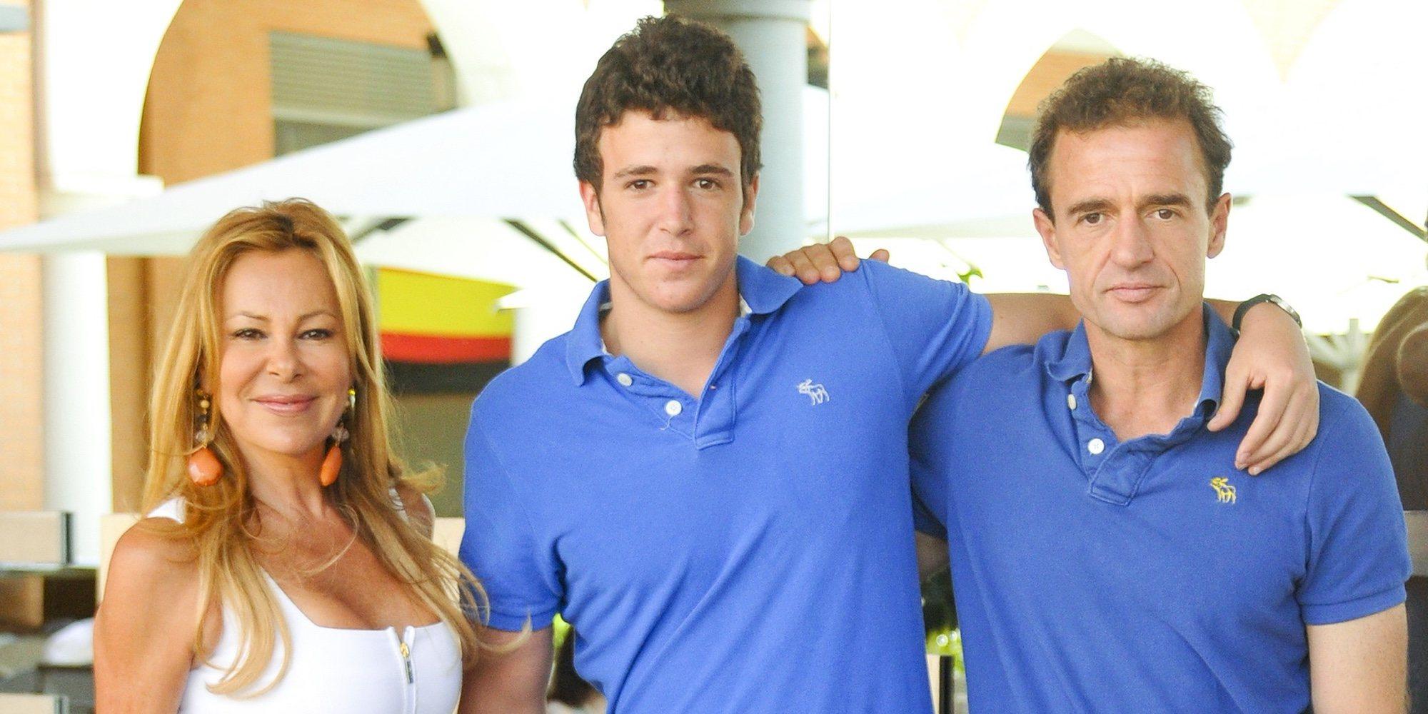 Ana Obregón y Alessandro Lequio viajan juntos hasta Nueva York preocupados por la salud de su hijo Álex Lequio