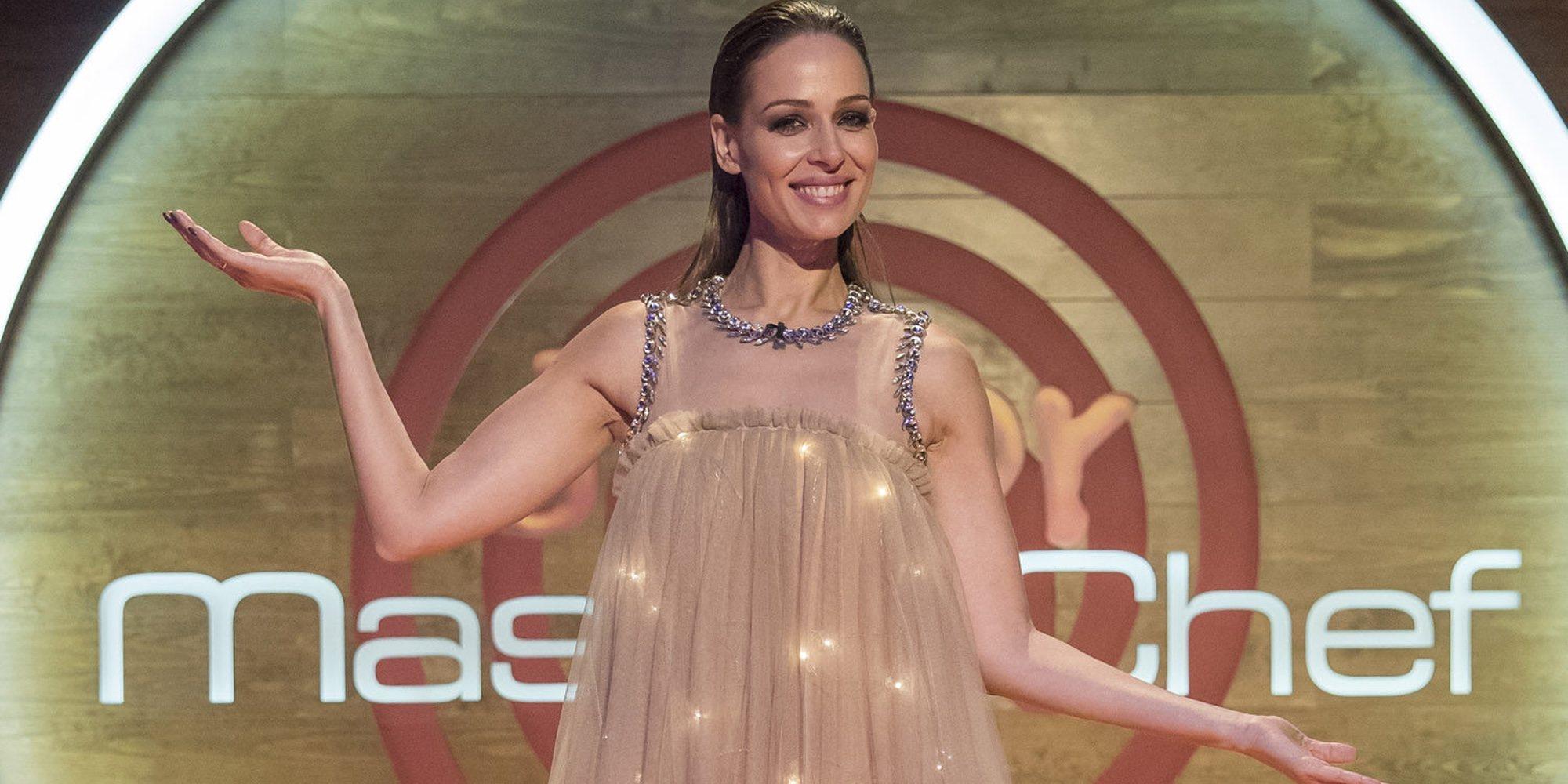 Eva González se convierte en la protagonista de la presentación de 'Masterchef 6'