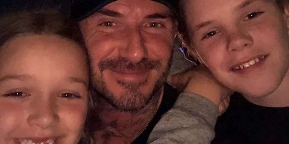 David y Victoria Beckham se divierten junto a sus hijos Cruz y Harper Seven en Disneyland