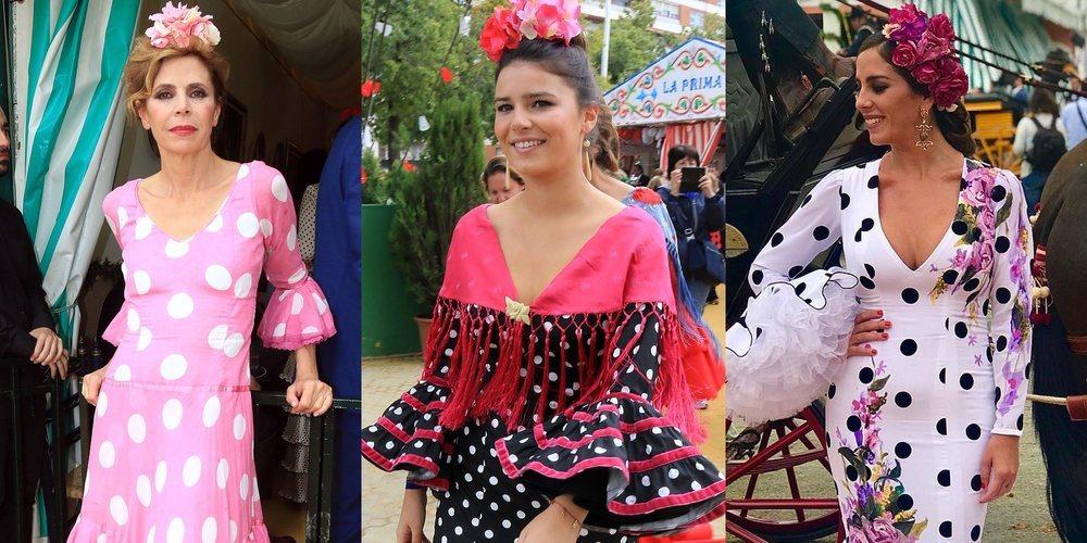 Ágatha Ruiz de la Prada, Eugenia Martínez de Irujo... Así se lo pasan los famosos en la Feria de Abril 2018
