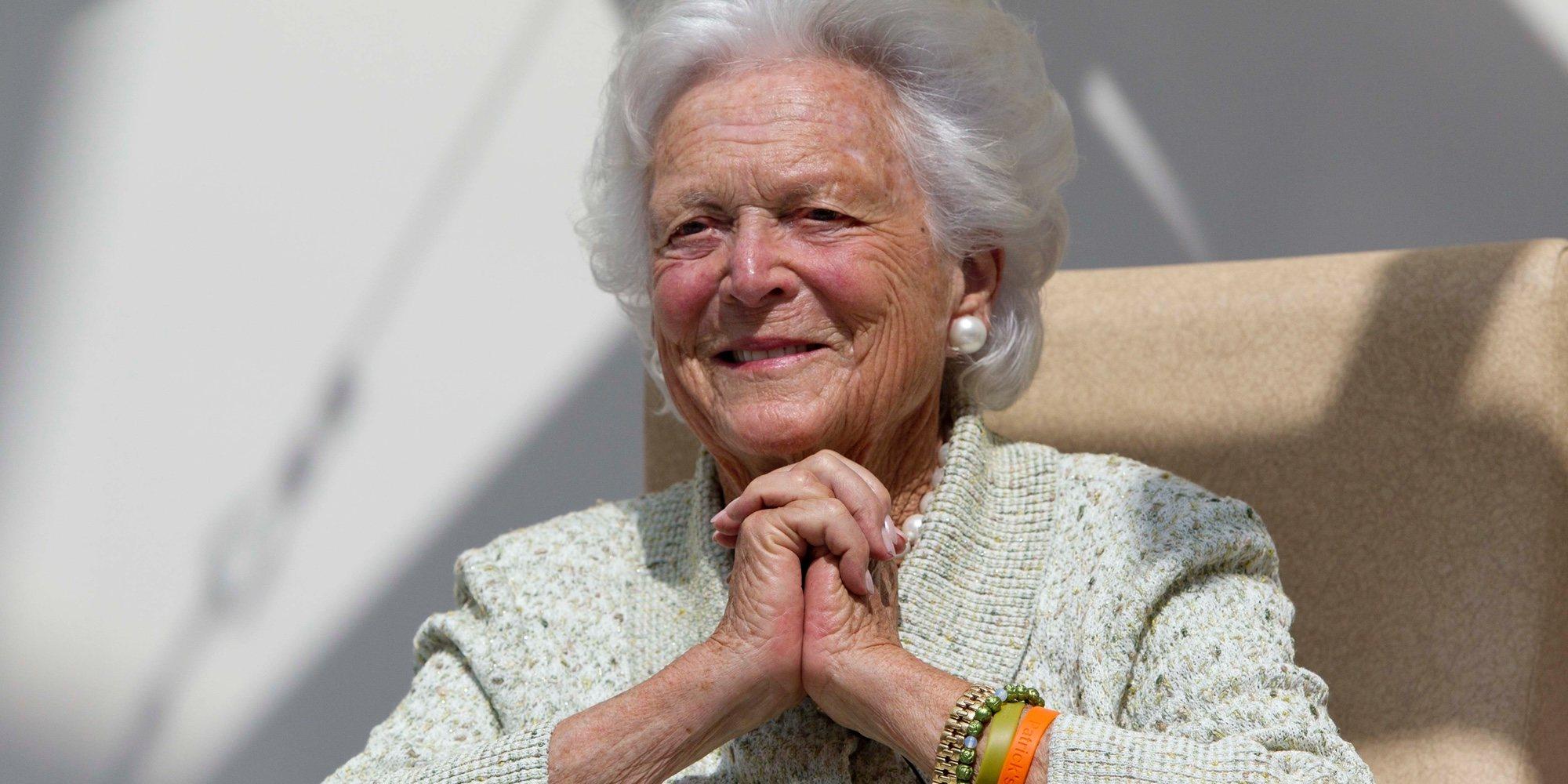Barbara Bush rechaza someterse a más tratamientos médicos para sus problemas pulmonares