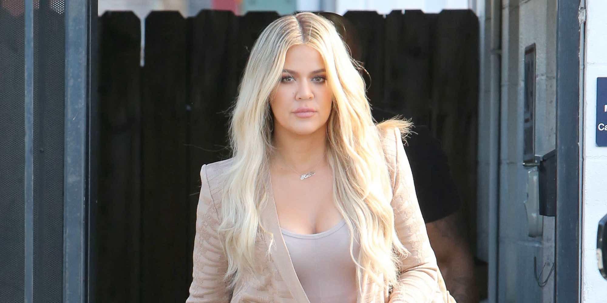 Khloe Kardashian desvela el intencionado nombre que le ha puesto a su hija
