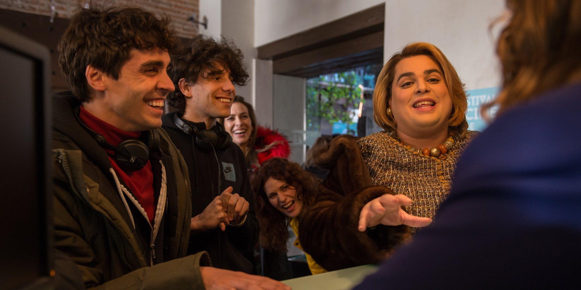 Primeras imágenes de la segunda temporada de 'Paquita Salas' con Brays Efe y Lidia San José