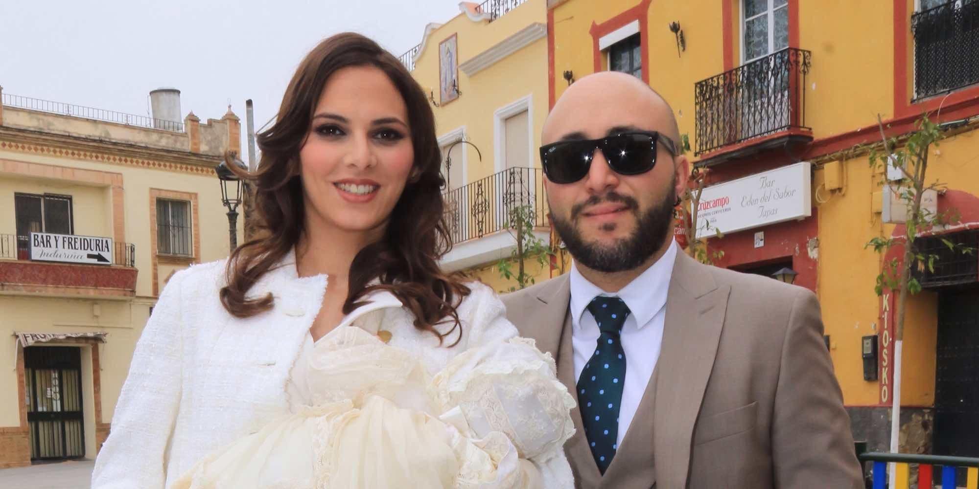 Kiko Rivera e Irene Rosales bautizan a su hija Carlota con cuatro grandes ausencias