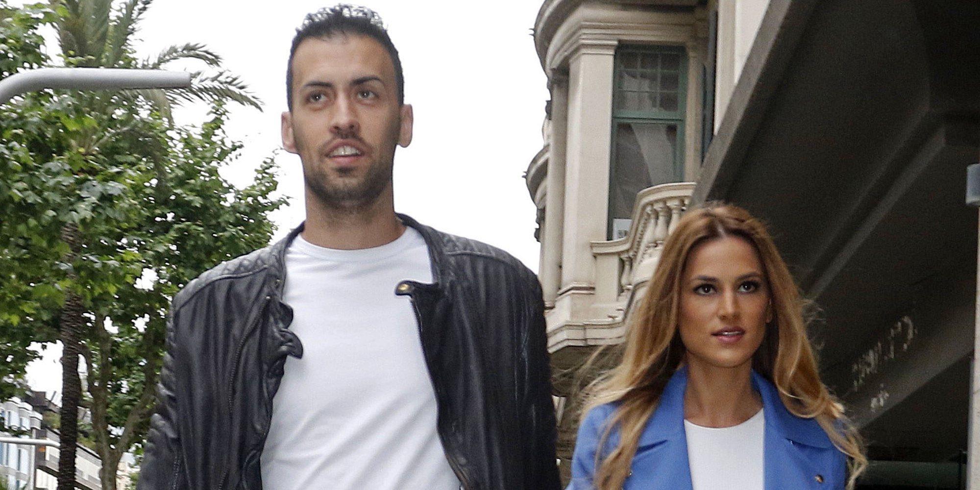 """Elena Galera y Sergio Busquets esperan su segundo hijo: """"Sumando felicidad"""""""