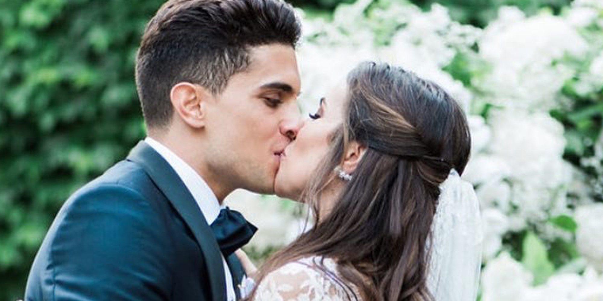 Marc Bartra y Melissa Jiménez se han convertido en padres de su segunda hija