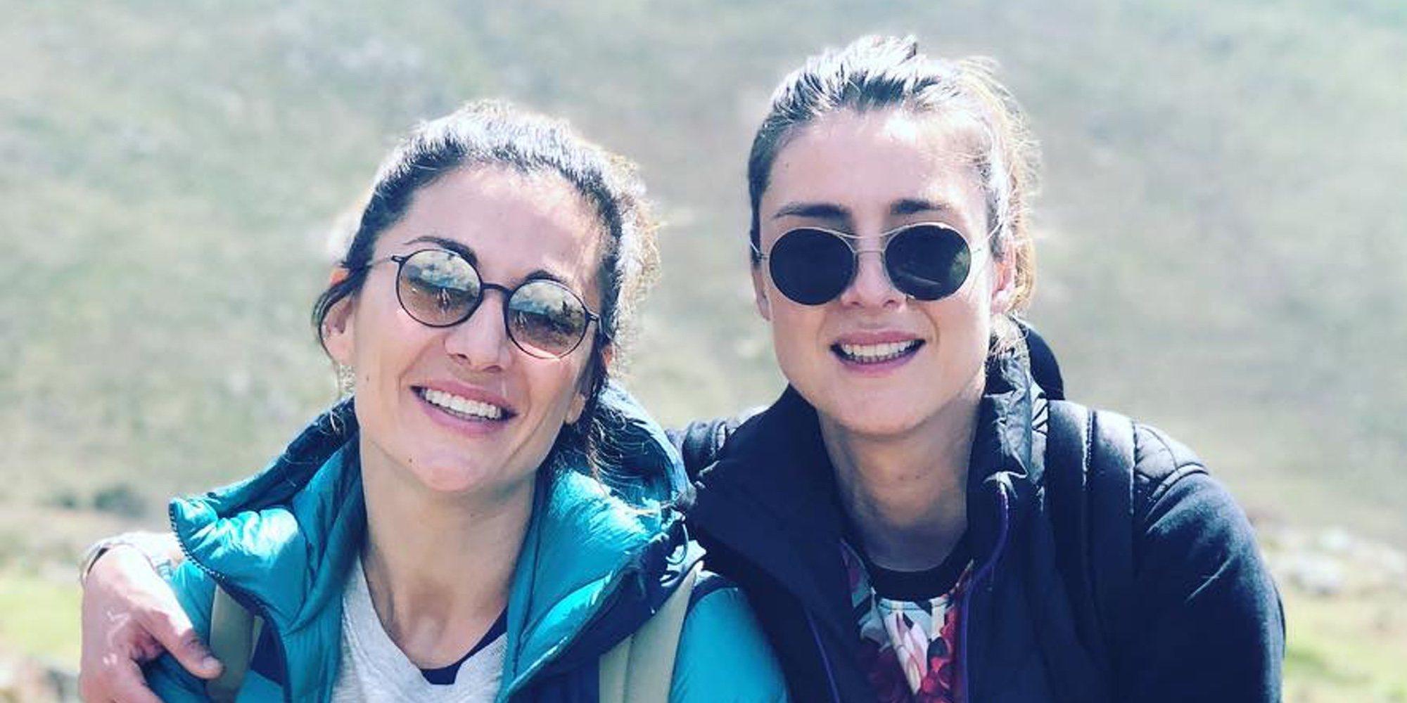 Sandra Barneda y Nagore Robles celebran el Día de la Visibilidad Lésbica proclamando su amor por todo lo alto