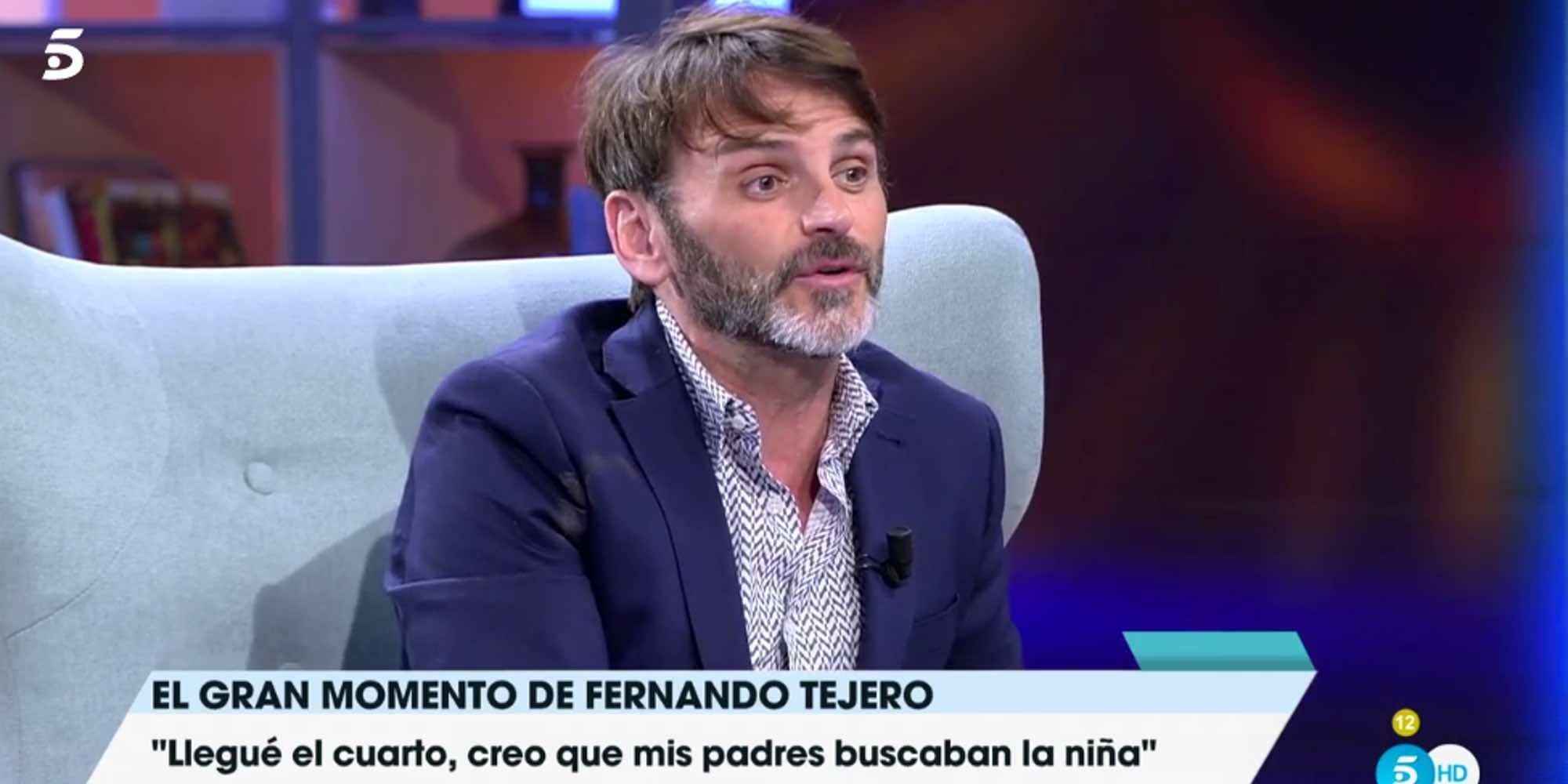 Fernando Tejero inicia los trámites para convertirse en padre
