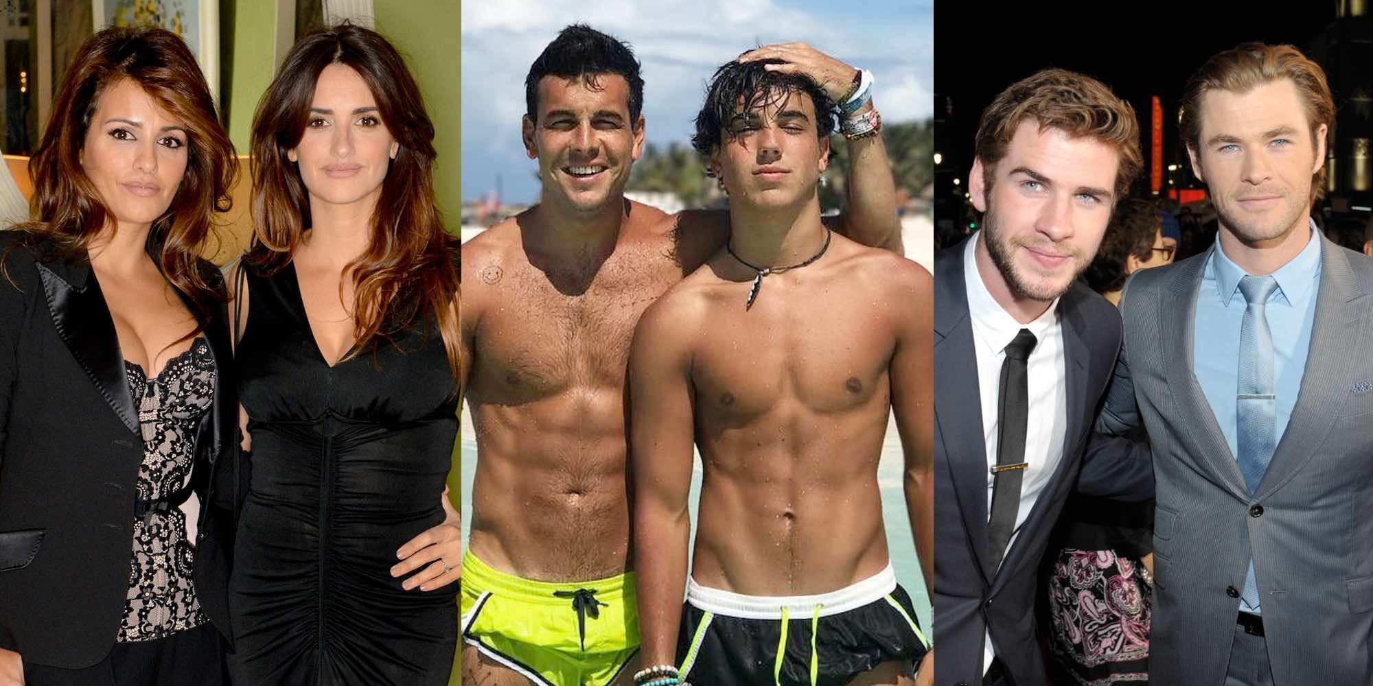 Hermanos de famosos que son igual o más famosos que ellos