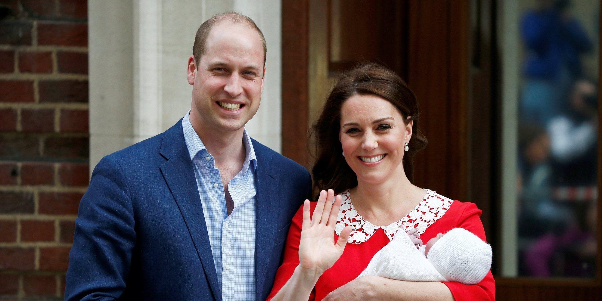 El Príncipe Guillermo registra a su hijo: el Príncipe Luis ya tiene ...