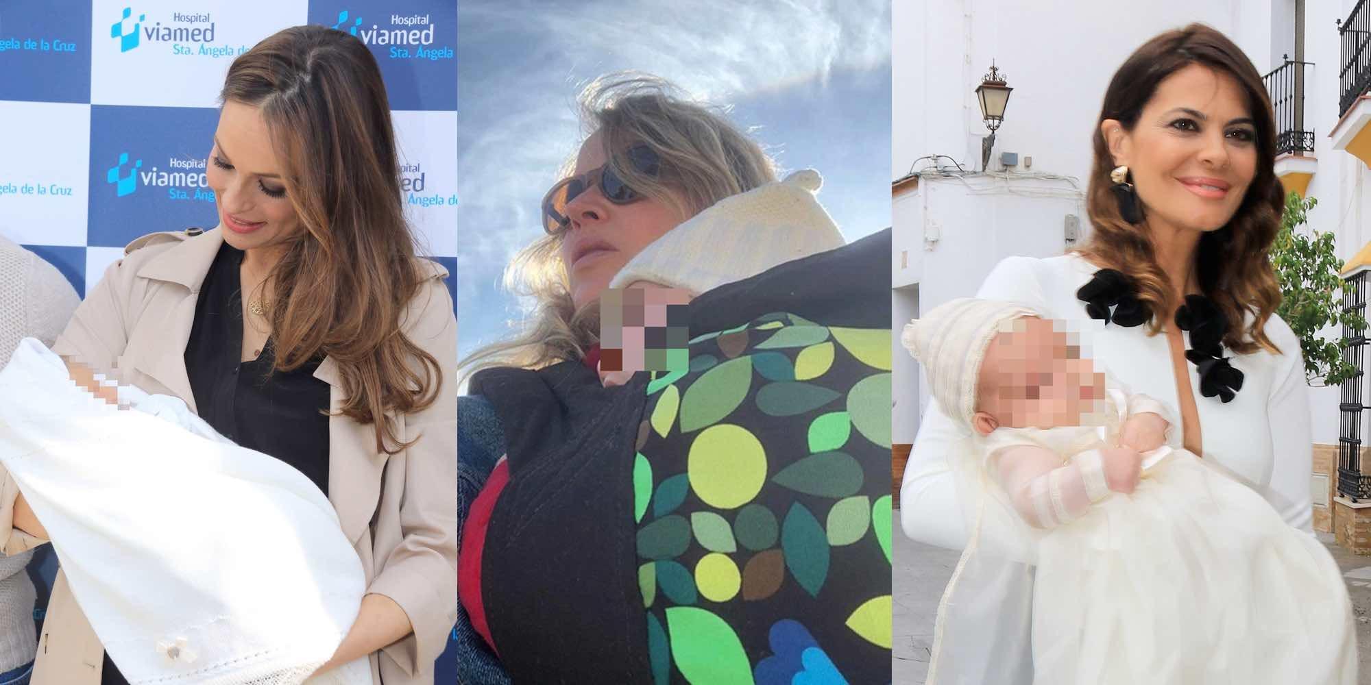 Eva González, Marta Larralde, Ariadne Artiles y Aurah Ruiz celebran su primer Día de la Madre