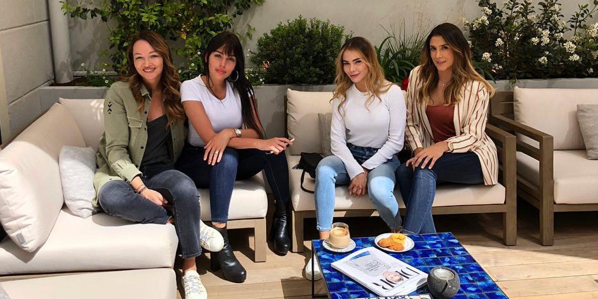 Así es la buena relación entre Daniela Ospina, ex de James Rodríguez, y Georgina Rodríguez