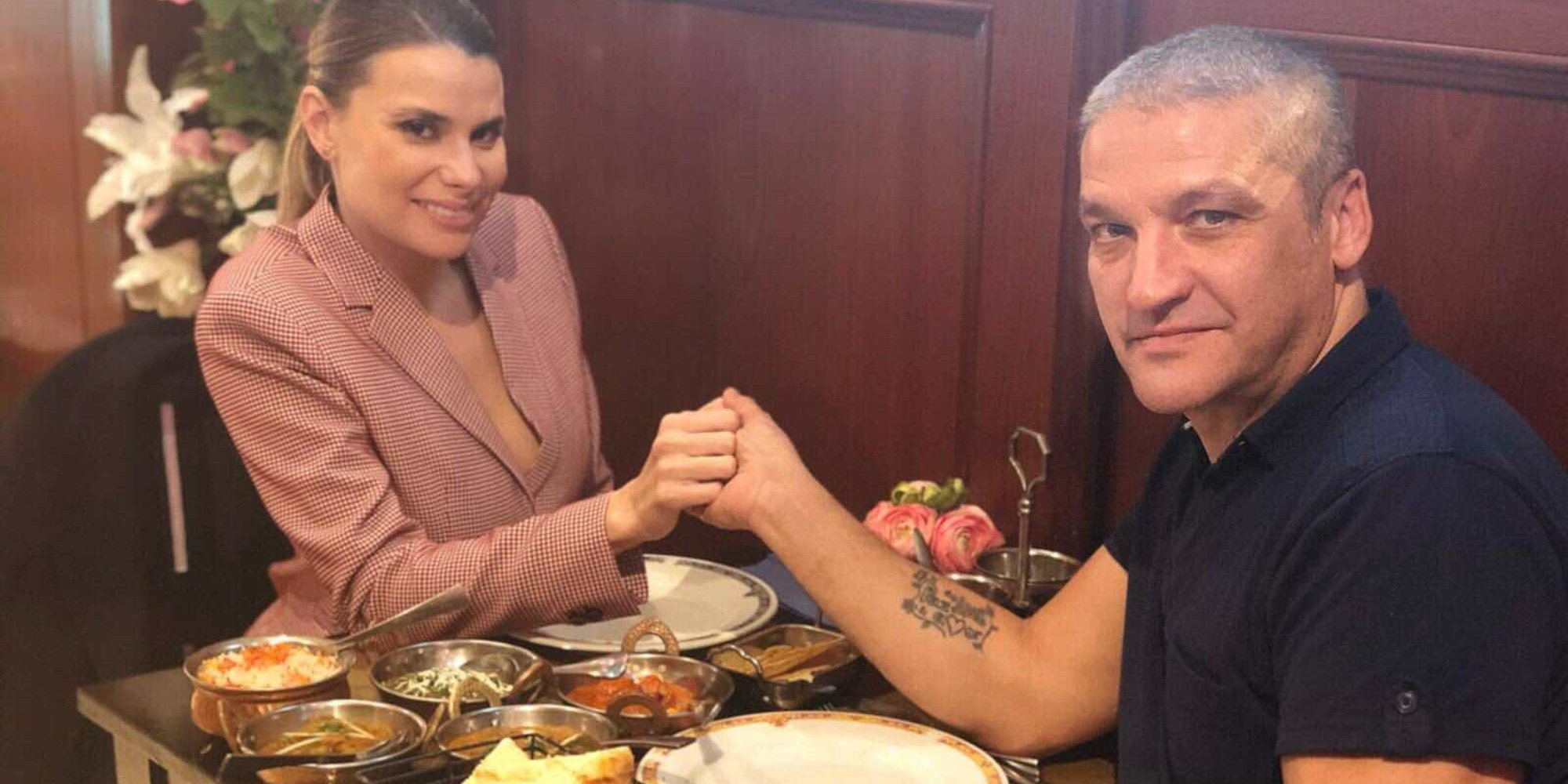 María Lapiedra, obligada a pagar a Mark Hamilton para poder quedarse a solas con Gustavo González