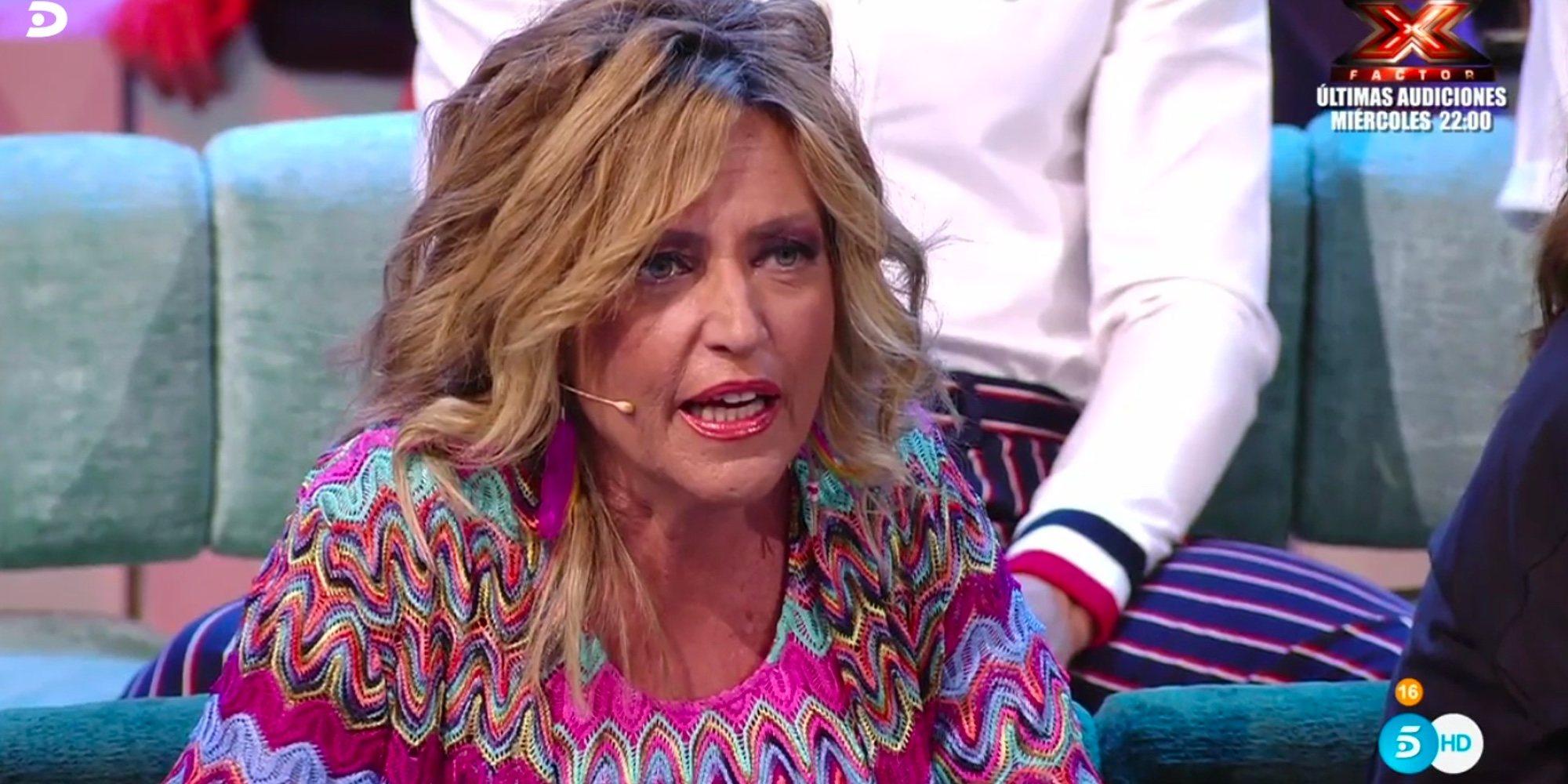 El rifirrafe entre Lydia Lozano y Julio Ruz en 'Supervivientes 2018' por las conversaciones en una cena