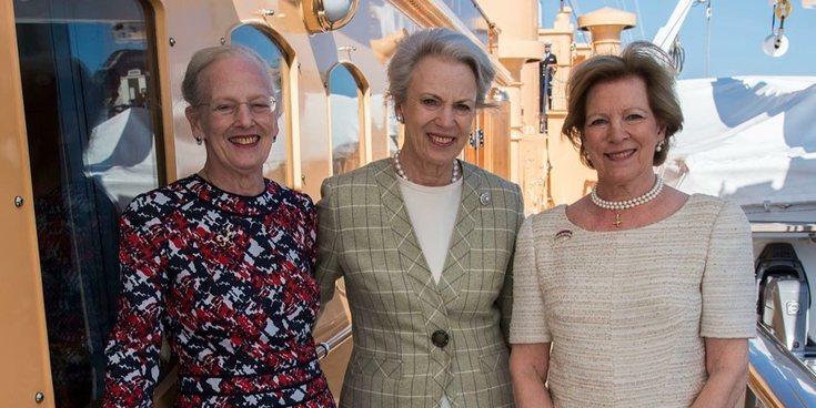 El emotivo reencuentro de Margarita de Dinamarca con sus hermanas, Benedicta y Ana María