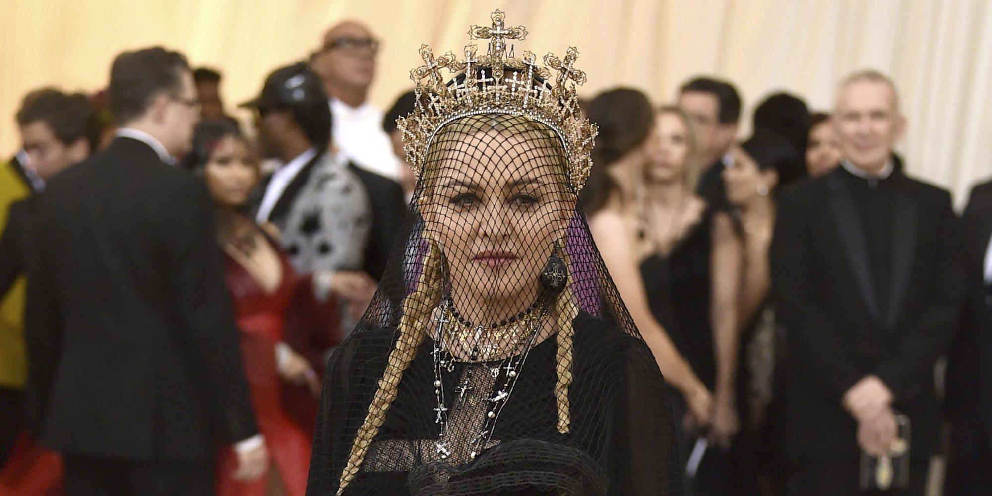 Madonna se convierte en protagonista de la Met Gala 2018 por su sorprendente acutación