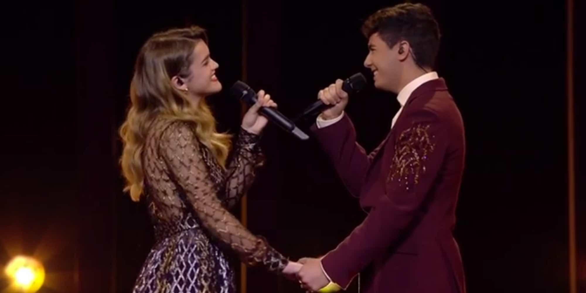 Así ha sido la romántica actuación de Amaia y Alfred con 'Tu canción' en el Festival de Eurovisión 2018