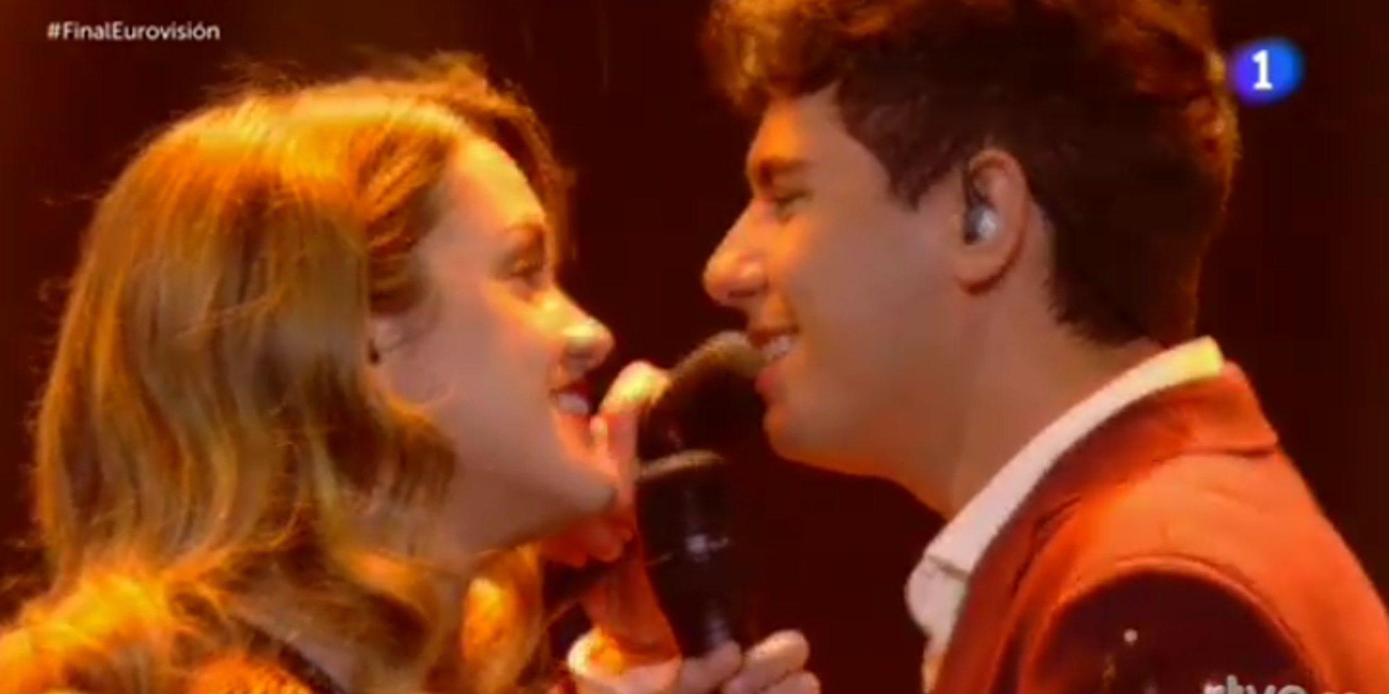 """Reacciones a la actuación de Amaia y Alfred con 'Tu canción' en Eurovisión 2018: """"Habéis estado brillantes"""""""