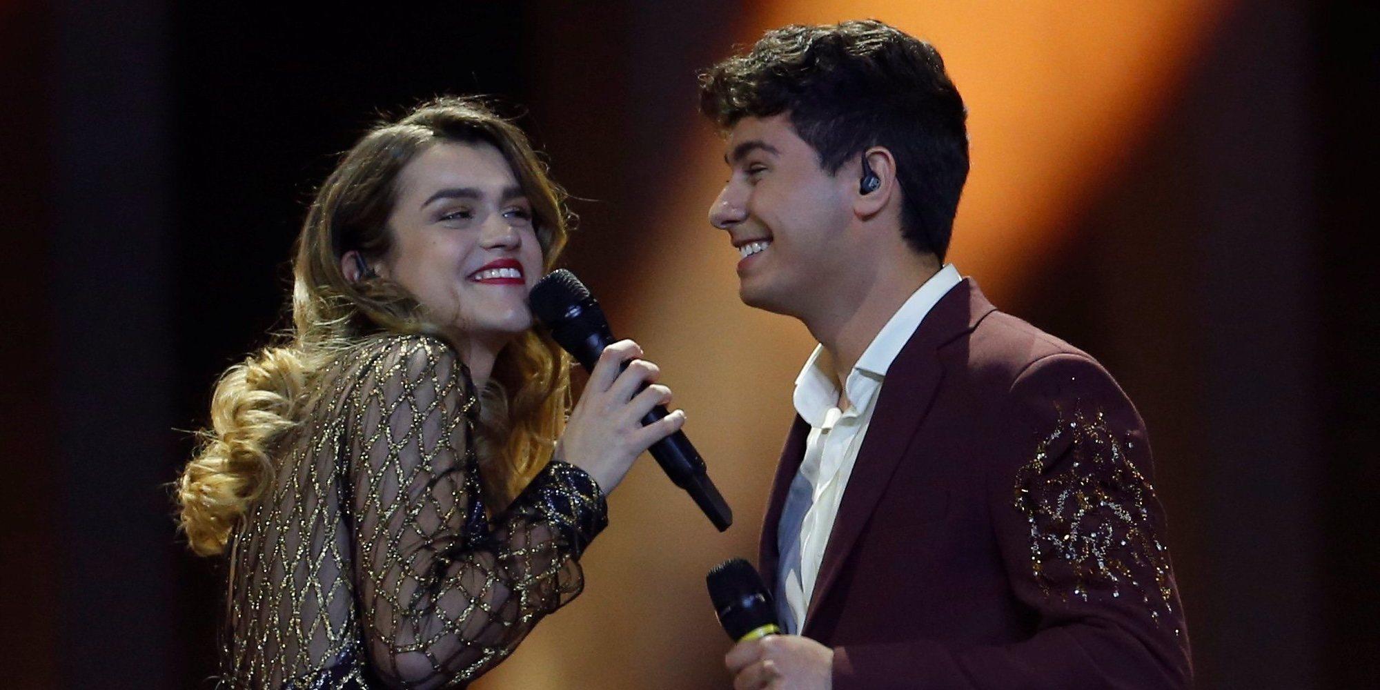 España queda en el puesto 23 de Eurovisión 2018 con los 61 puntos otorgados a 'Tu canción' de Amaia y Alfred