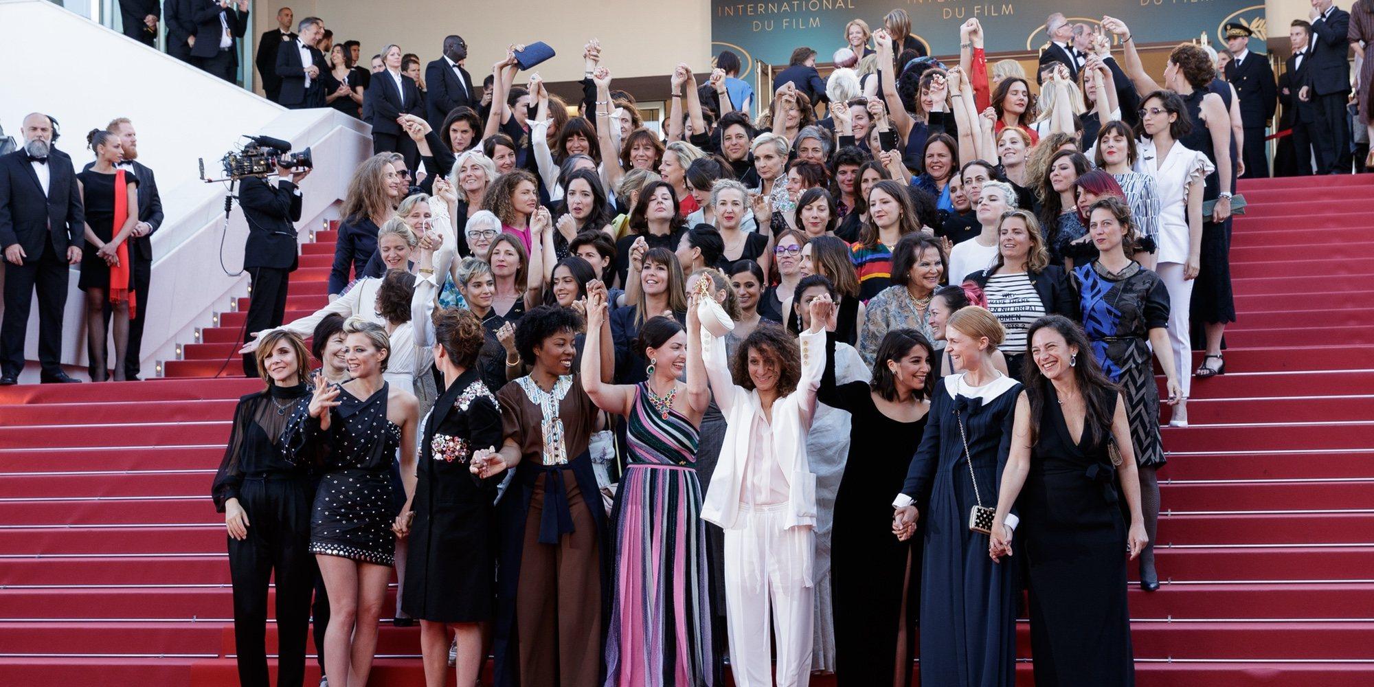 El poder femenino se impone en una histórica alfombra roja en el Festival de Cannes 2018