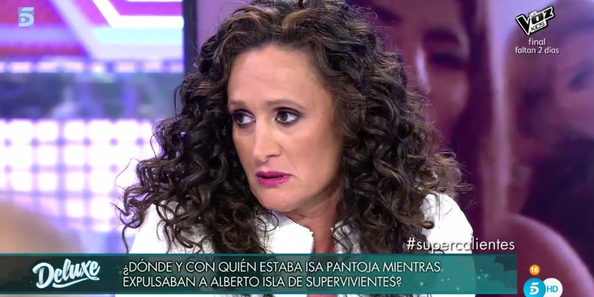 """Dulce Delapiedra arremete contra Alejandro Albalá en 'Sálvame Deluxe': """"Sigue detrás de Chabelita Pantoja"""""""