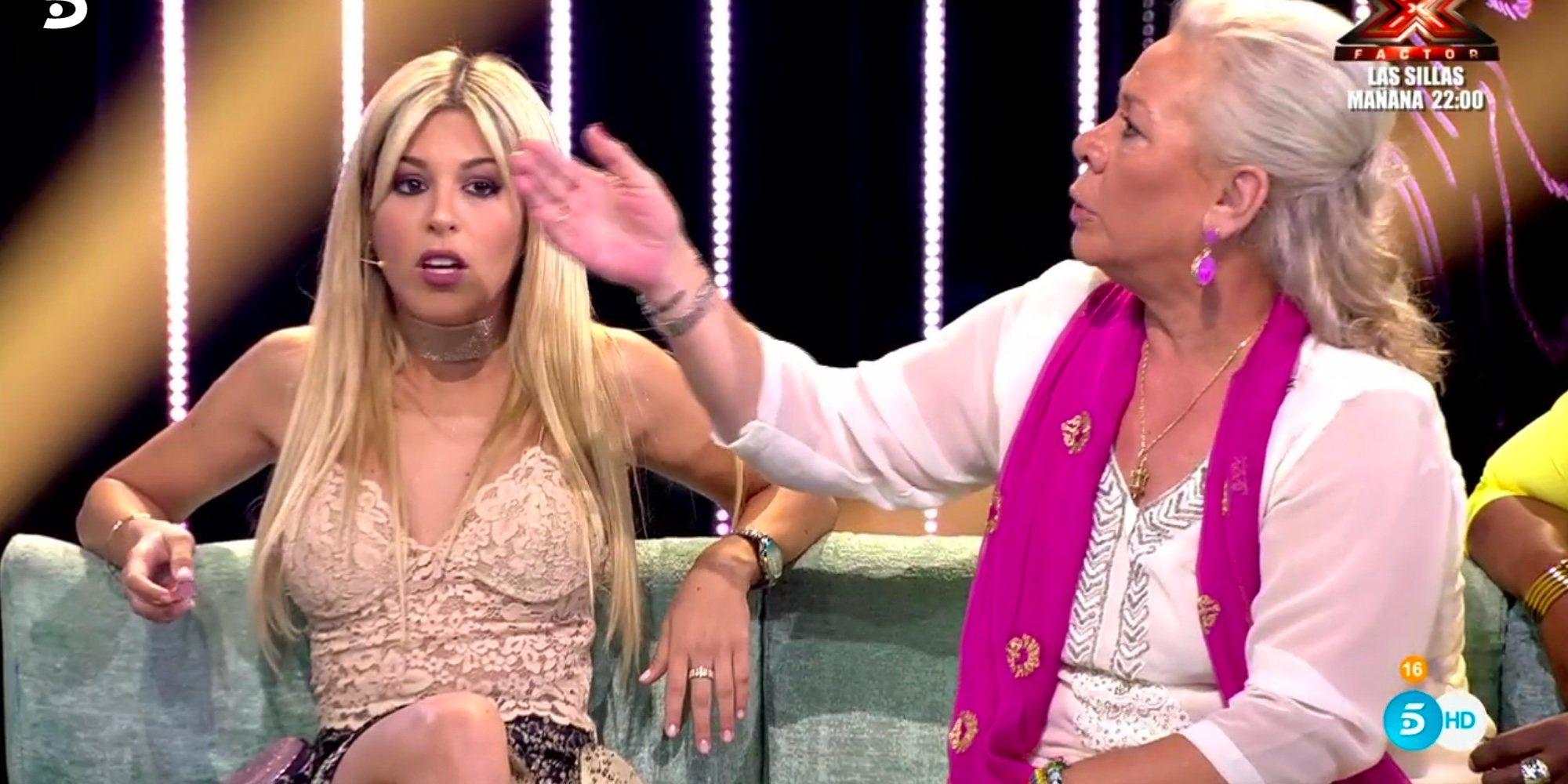 Oriana Marzoli y Carmen Gahona, del amor al odio en muy pocas semanas en 'Supervivientes 2018'