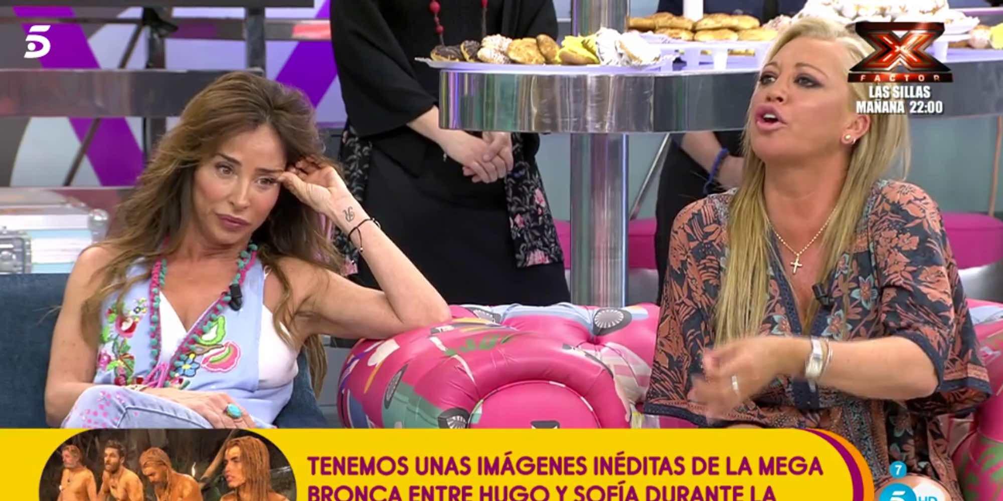 """Belén Esteban se toma a cachondeo el comentario de Jorge Javier Vázquez: """"Soy muy bruja, pero amargada no"""""""