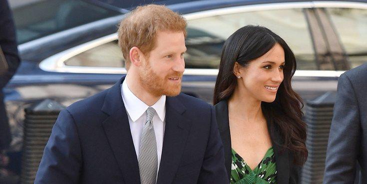 El Príncipe Jorge y la Princesa Carlota, entre los pajes y damas de la boda del Príncipe Harry y Meghan Markle