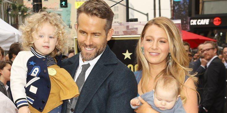 """Ryan Reynolds sobre su hija mayor: """"Tiene un problema de ego muy grande. Es terrible"""""""