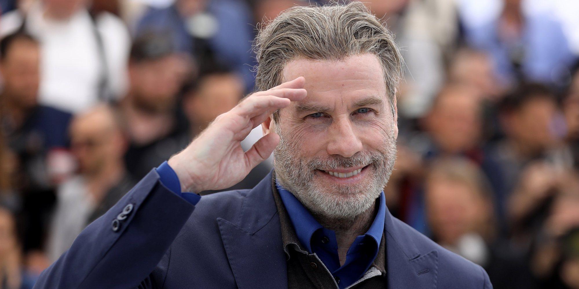 John Travolta demuestra su ritmo bailando en el Festival de Cannes 2018 con el rapero 50 Cent