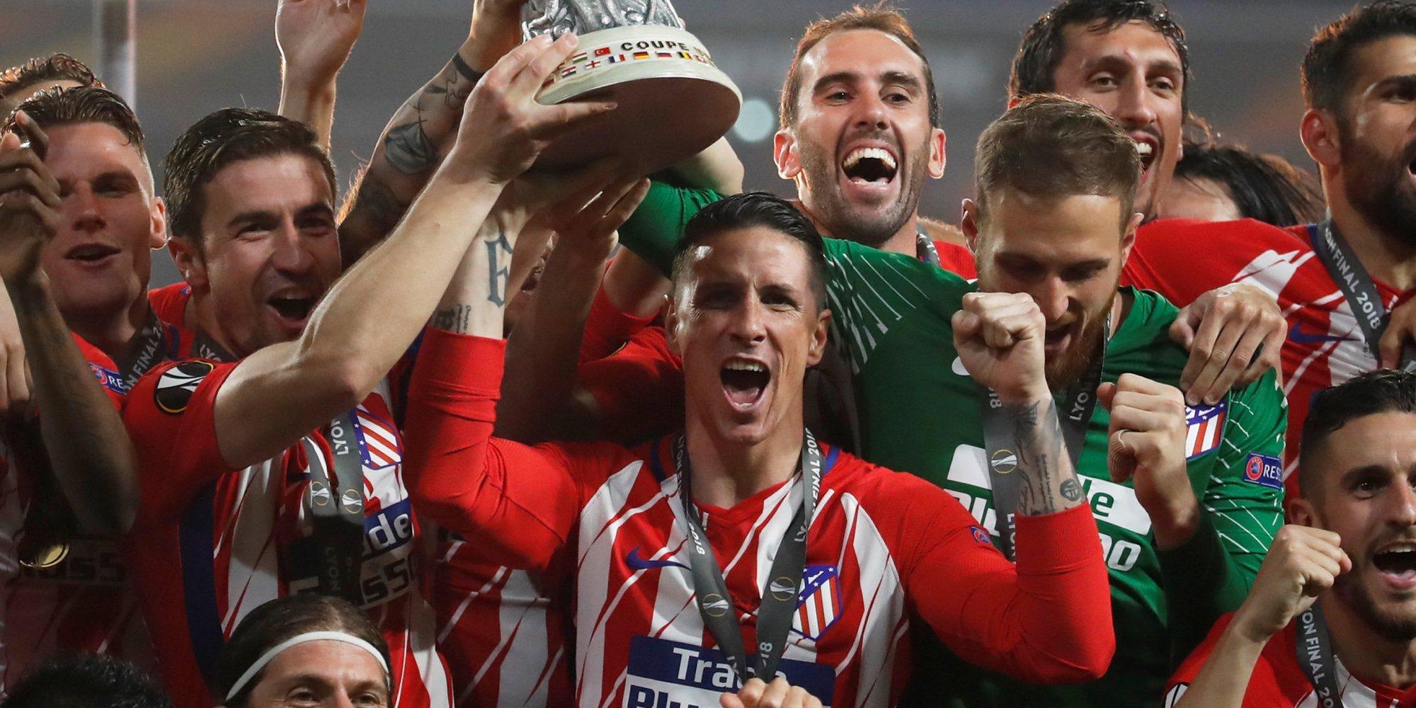 Fernando Torres cumple el sueño de su vida tras ganar el primer título con el Atlético de Madrid
