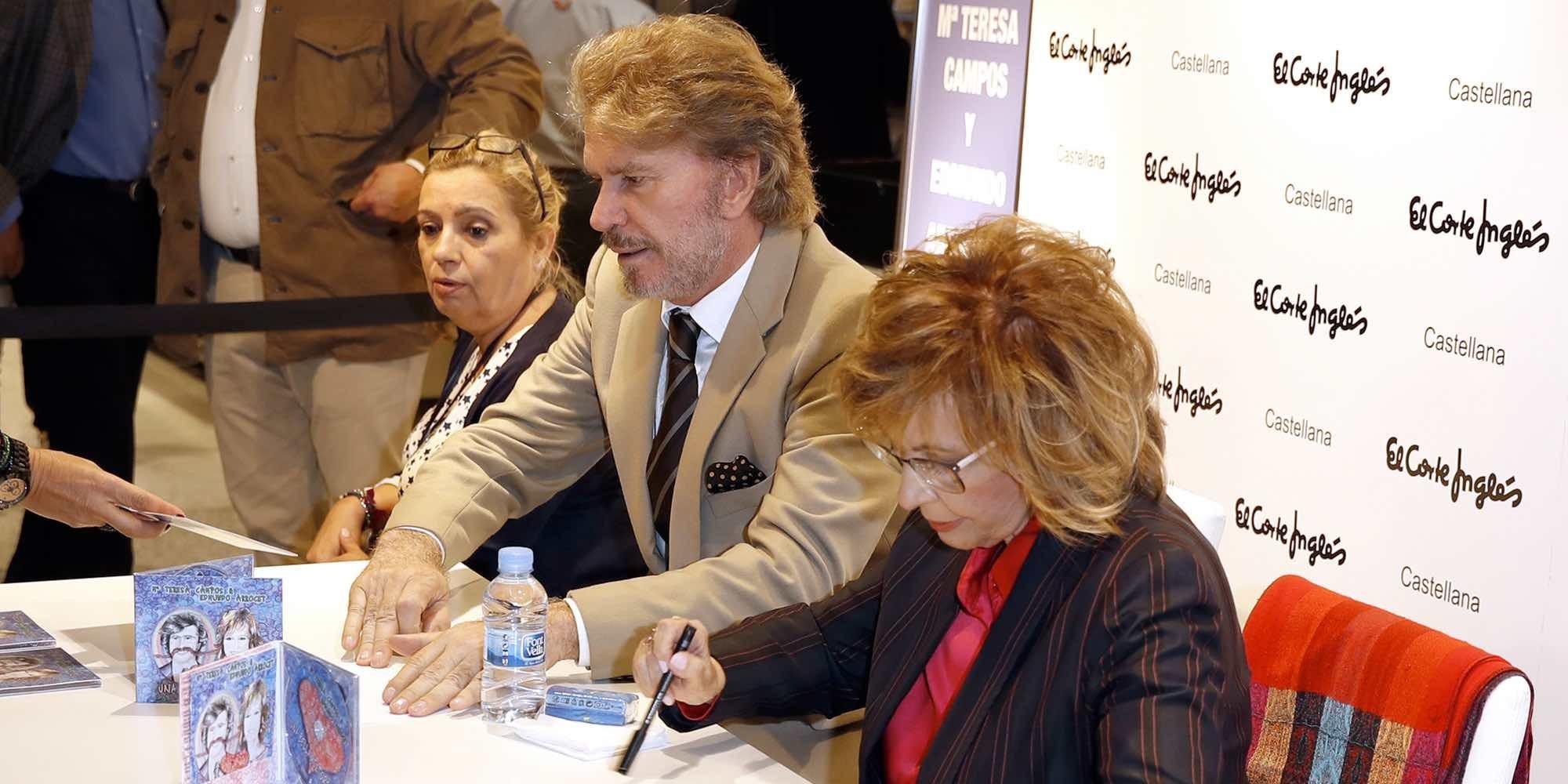 María Teresa Campos y Bigote Arrocet suspenden sus firmas de discos tras el fracaso en Madrid
