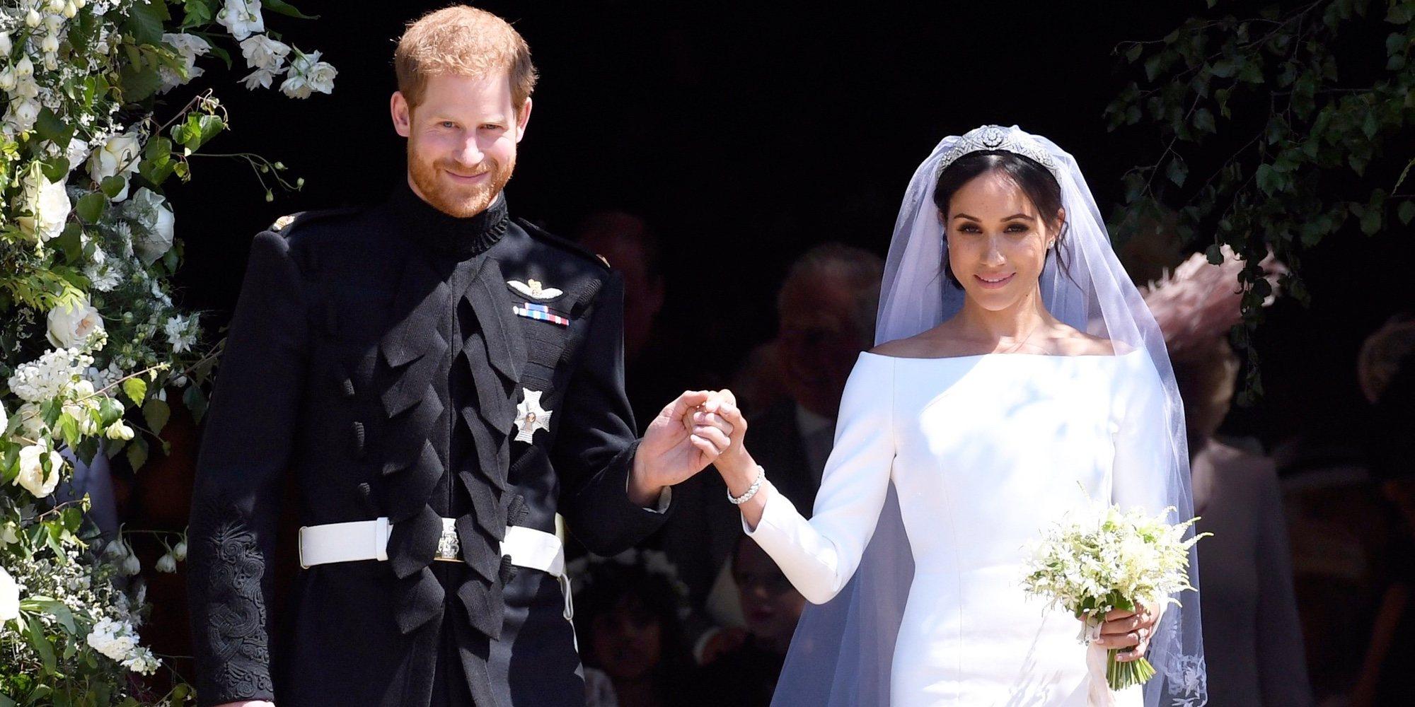 La boda del Príncipe Harry y Meghan Markle: risas, gospel, dos vestidos, un sermón curioso y mucho amor