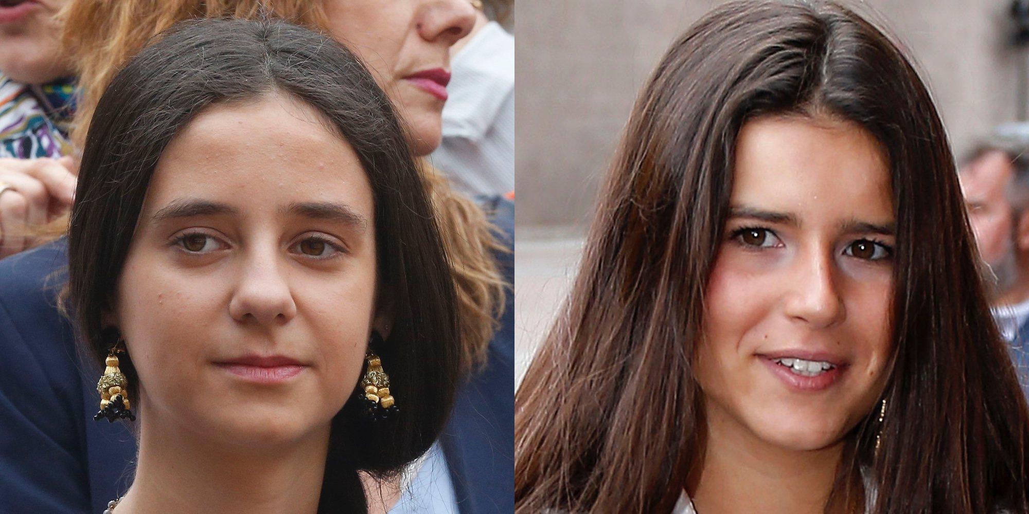 Cayetana Rivera y Victoria Federica de Marichalar disfrutan de una corrida de toros en las Ventas