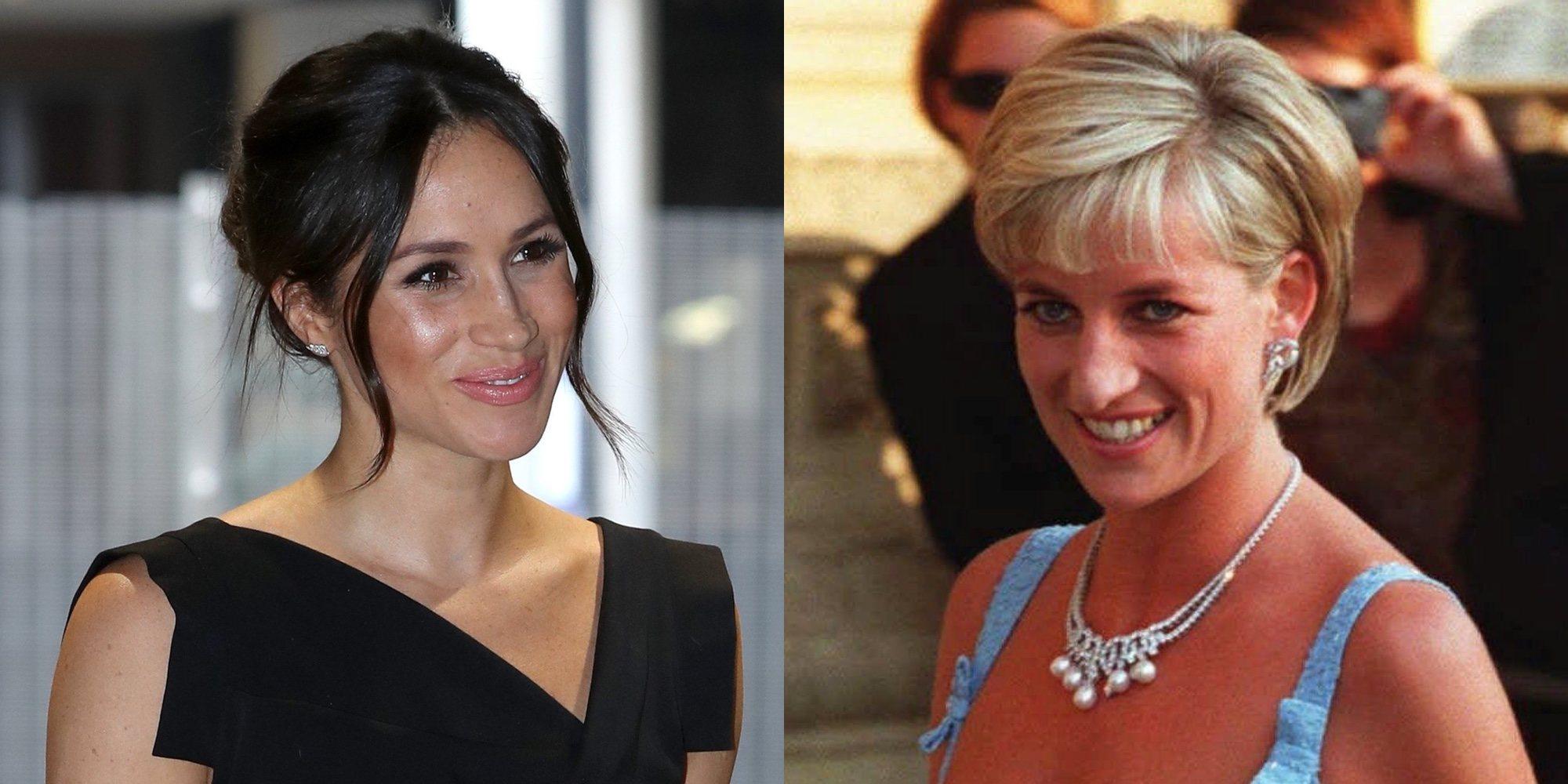 Los homenajes de Meghan Markle a Lady Di en su boda con el Príncipe Harry