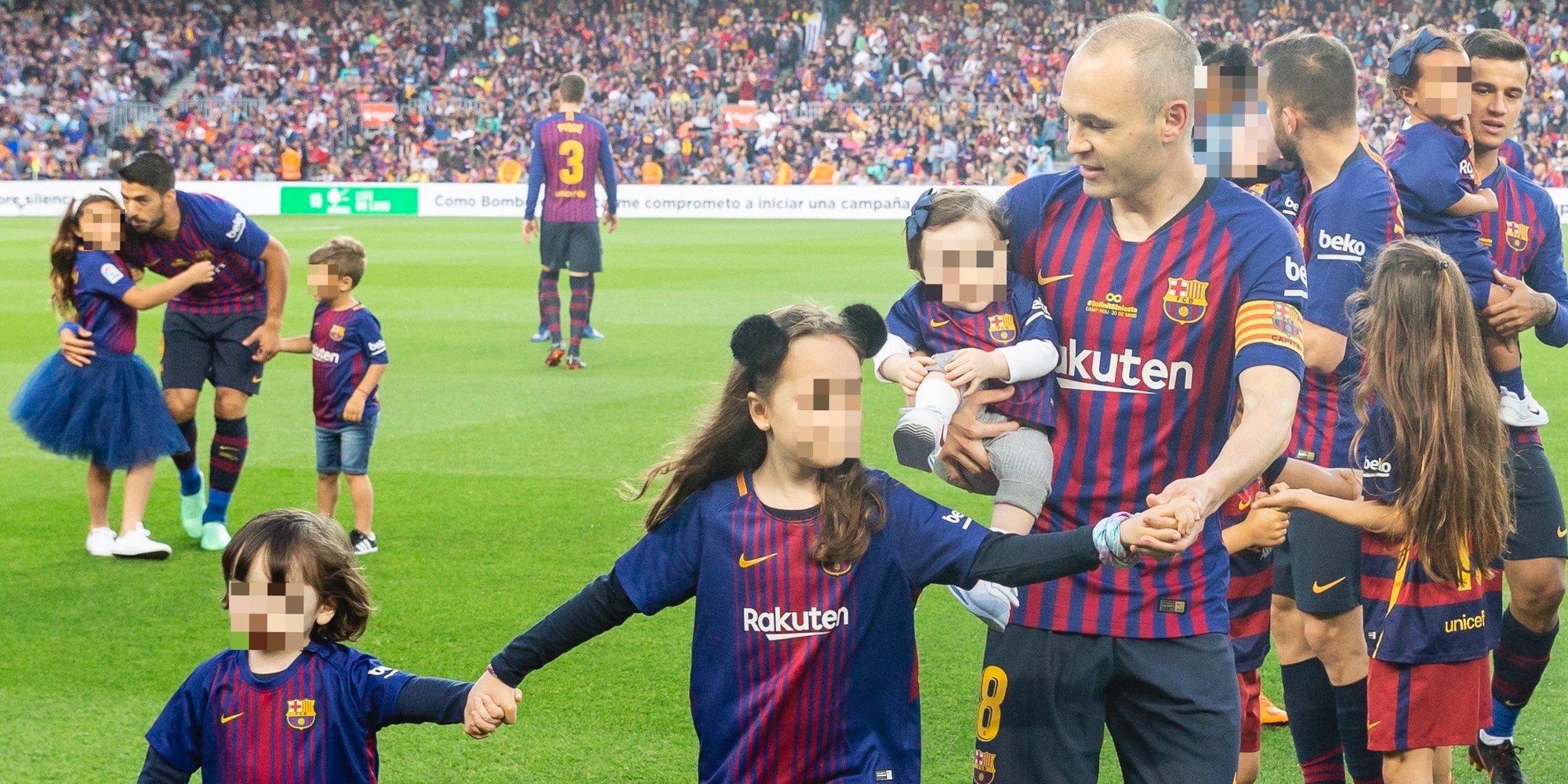 """Andrés Iniesta se despide del Camp Nou tras ganar la Liga con el Barça: """"Os llevaré en mi corazón"""""""