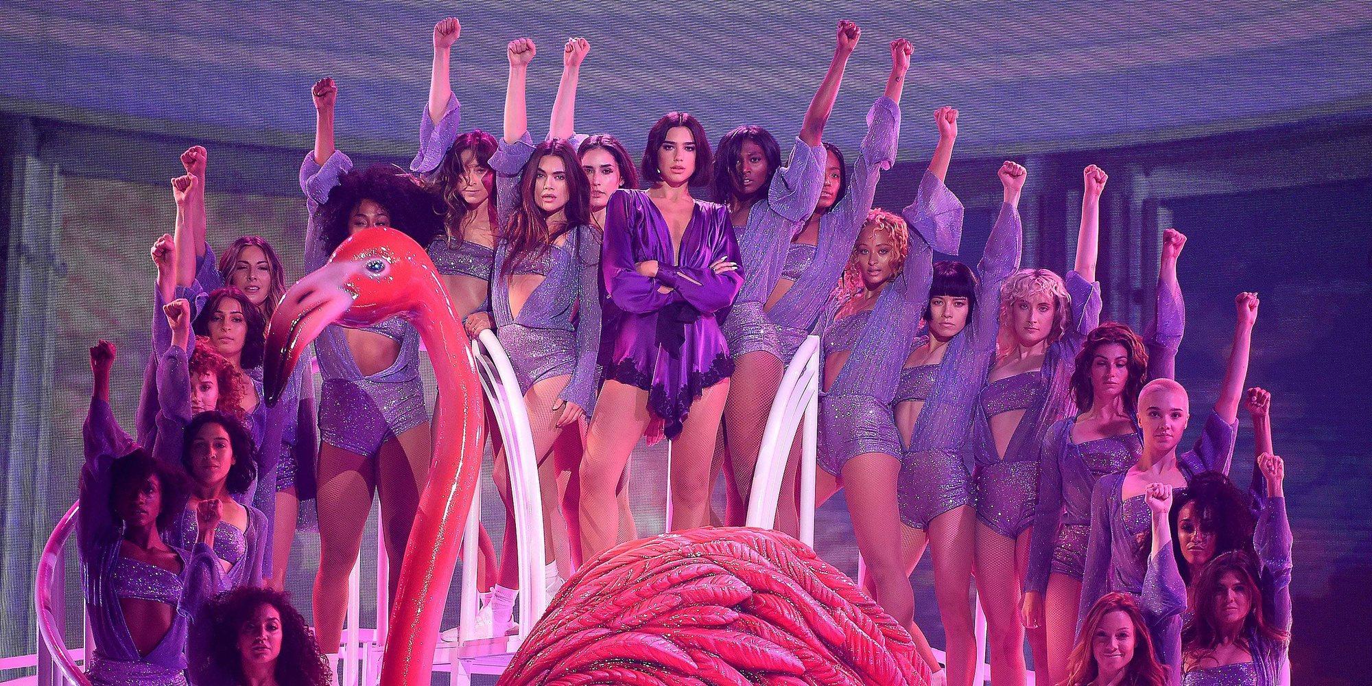 Jennifer Lopez, Dua Lipa y Ariana Grande deslumbran en las actuaciones de los Premios Billboard 2018