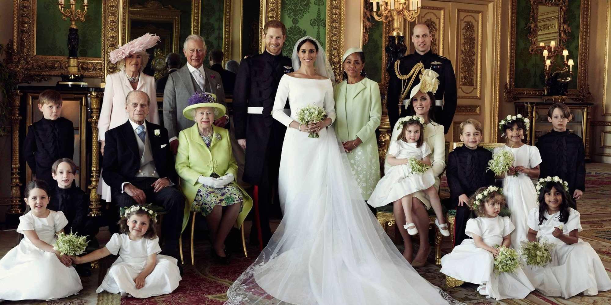 Las fotos oficiales de la boda del Príncipe Harry y Meghan Markle